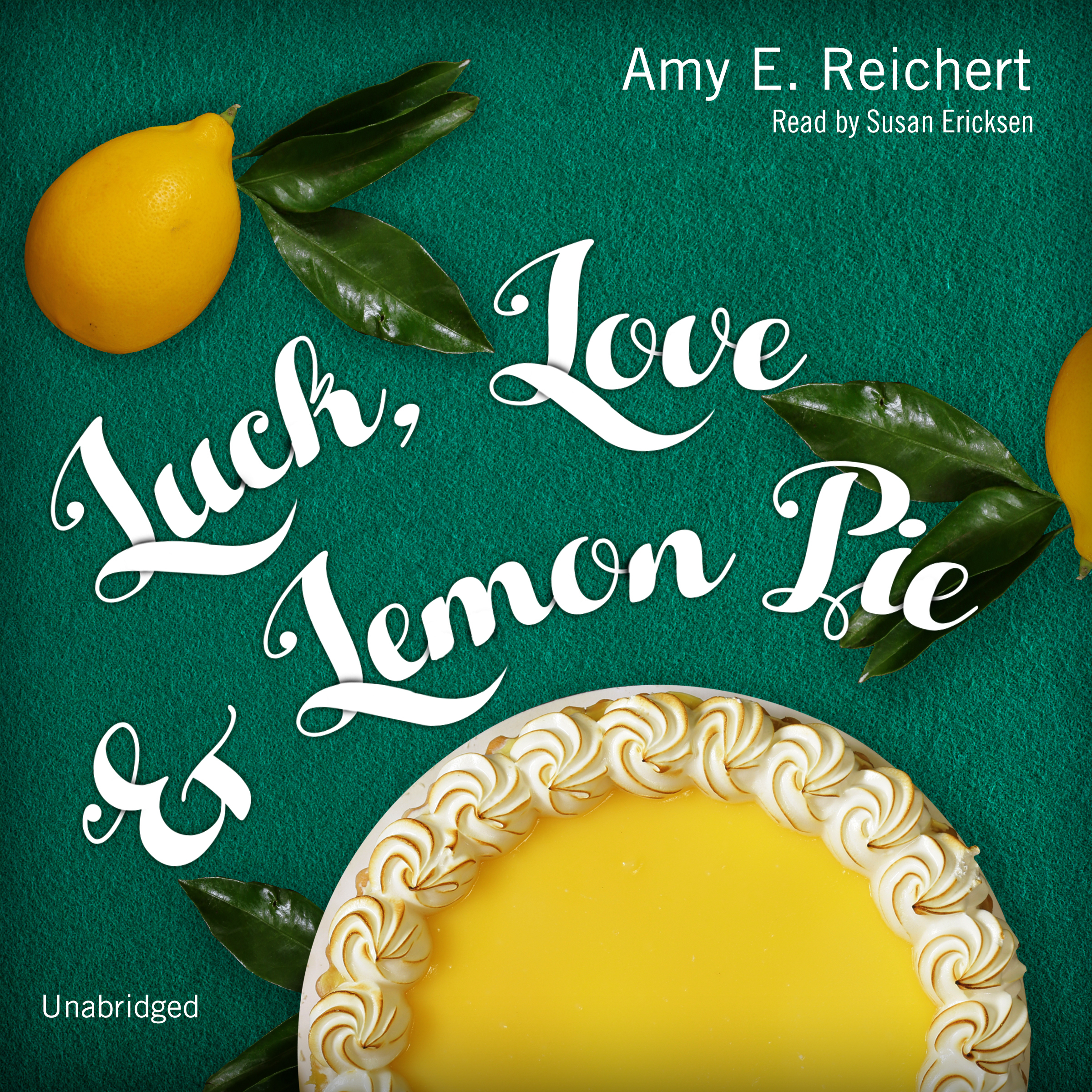 Printable Luck, Love & Lemon Pie Audiobook Cover Art