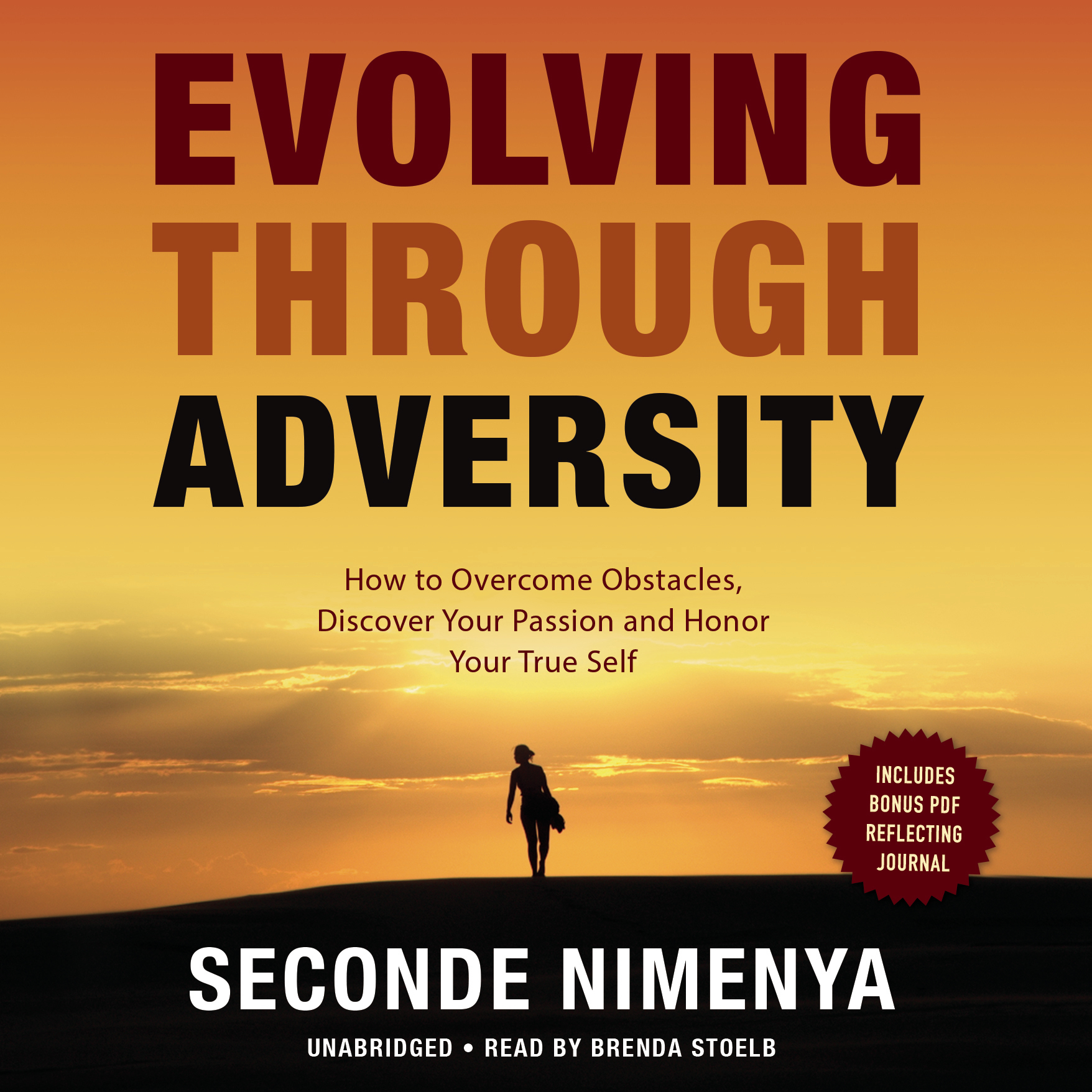 Printable Evolving through Adversity: How to Overcome Obstacles, Discover Your Passion, and Honor Your True Self Audiobook Cover Art