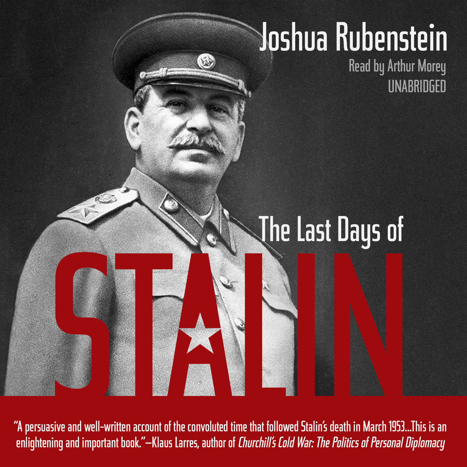 Printable The Last Days of Stalin Audiobook Cover Art