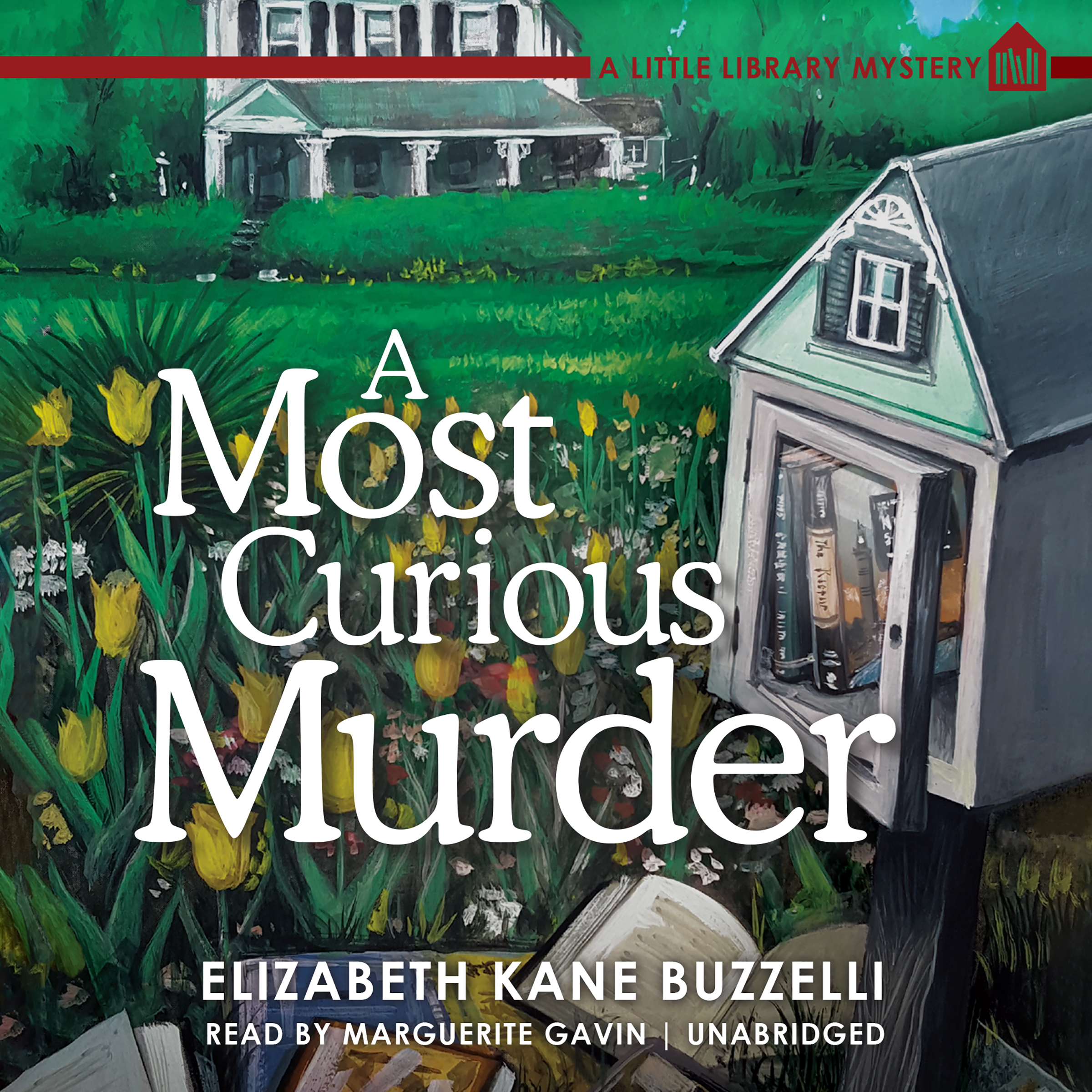 Printable A Most Curious Murder: A Little Library Mystery Audiobook Cover Art