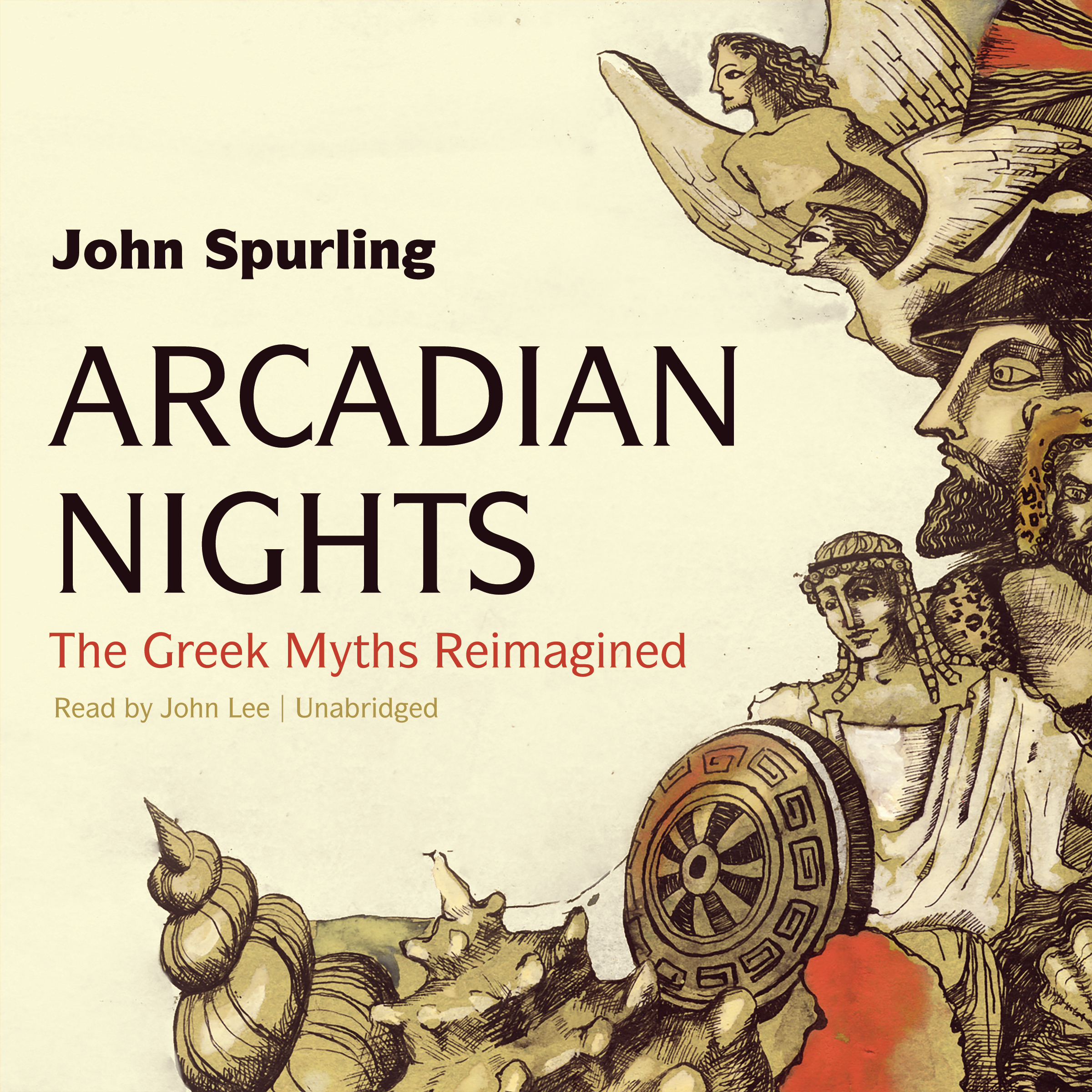 Printable Arcadian Nights: The Greek Myths Reimagined Audiobook Cover Art