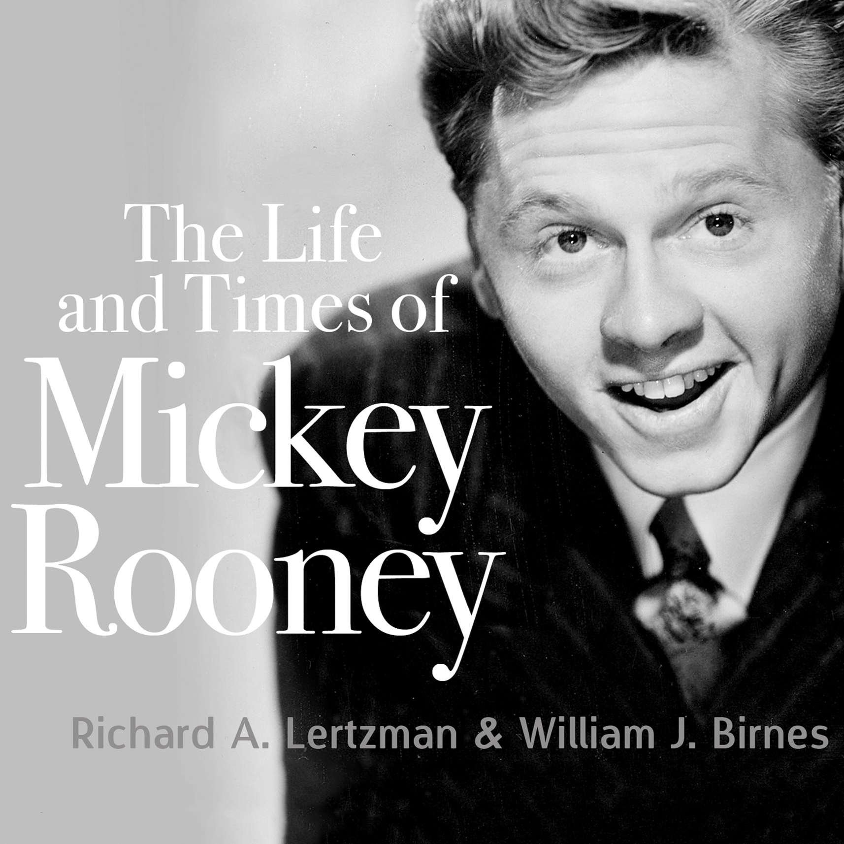 Printable The Life and Times of Mickey Rooney Audiobook Cover Art
