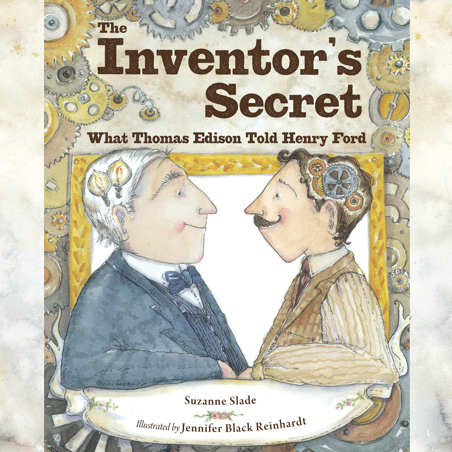 Printable The Inventor's Secret: What Thomas Edison Told Henry Ford Audiobook Cover Art