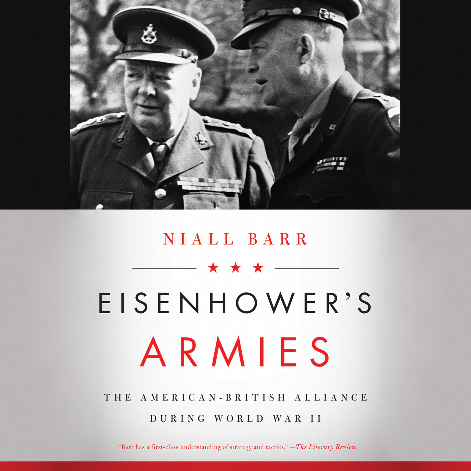 Printable Eisenhower's Armies: The American-British Alliance during World War II  Audiobook Cover Art