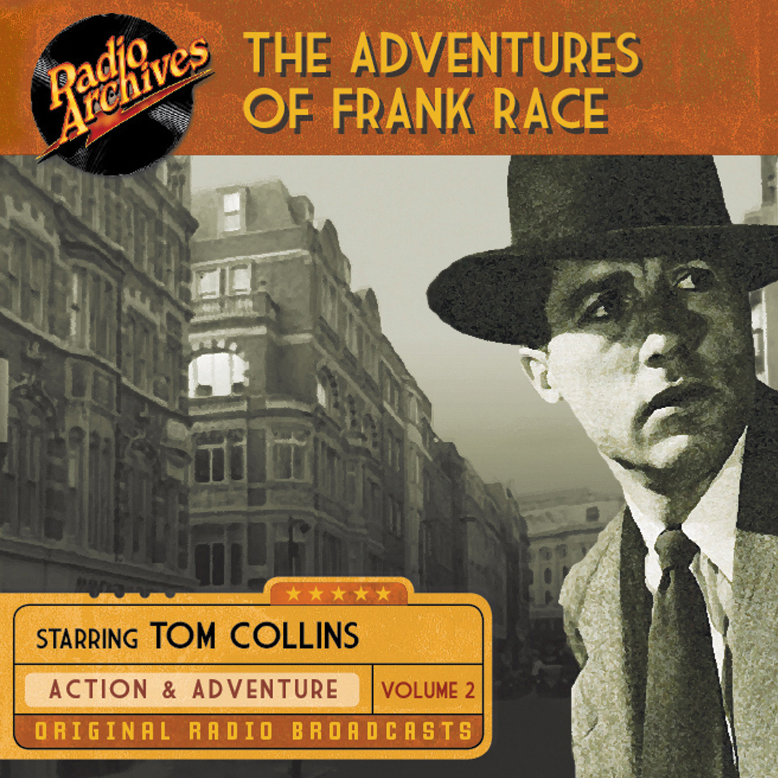 Printable The Adventures of Frank Race, Volume 2 Audiobook Cover Art