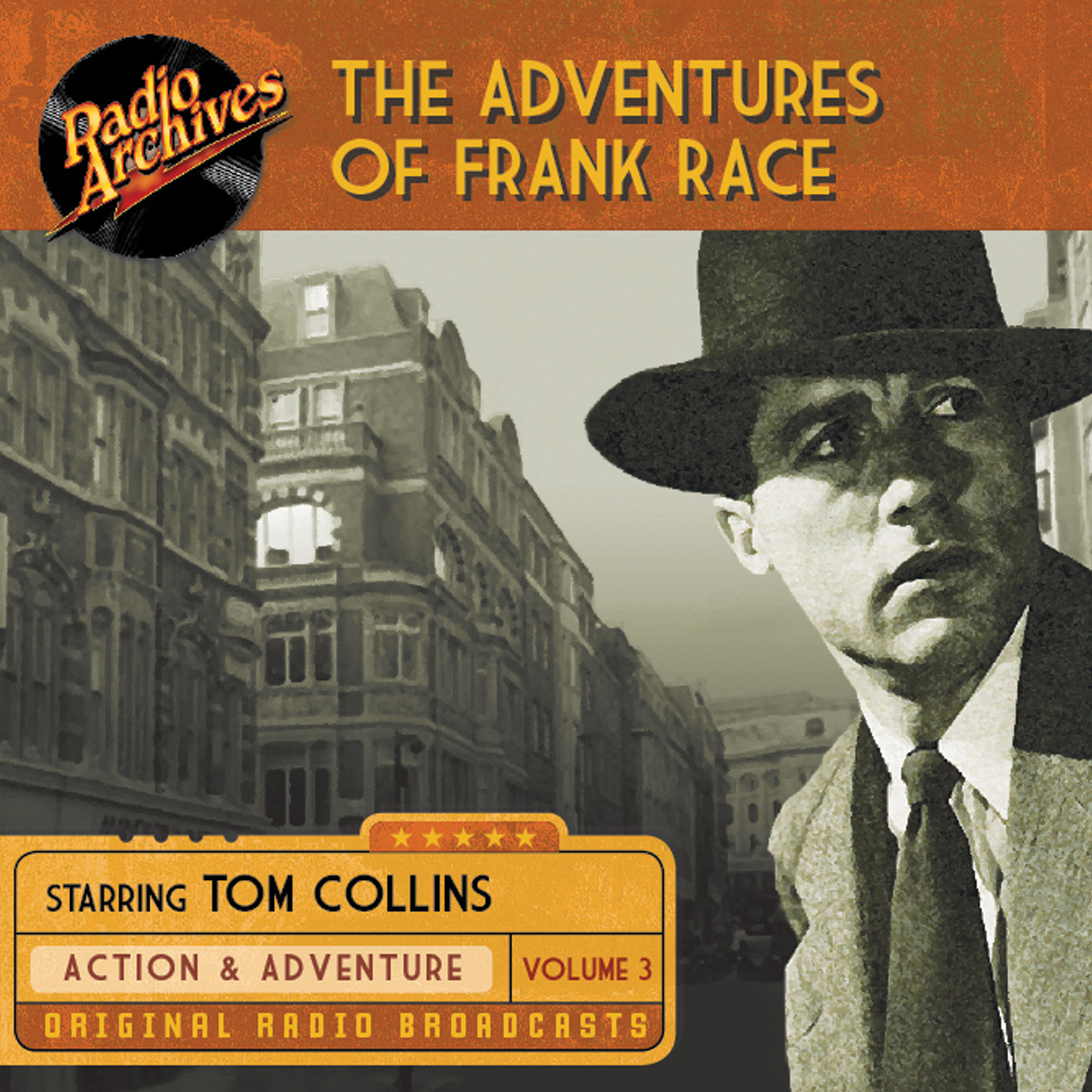 Printable The Adventures of Frank Race, Volume 3 Audiobook Cover Art