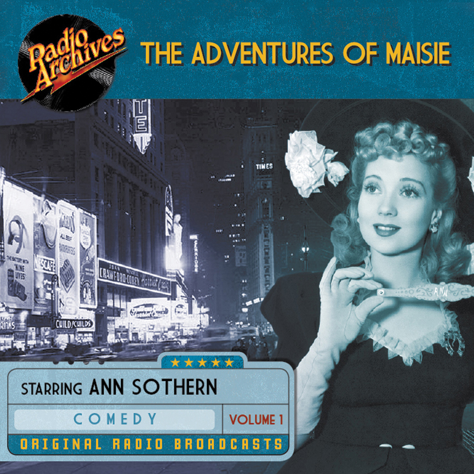 Printable The Adventures of Maisie, Volume 1 Audiobook Cover Art