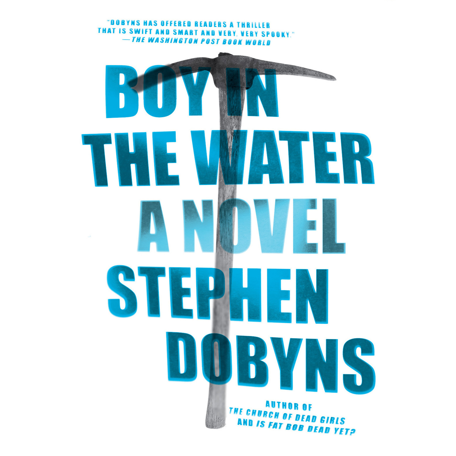 Printable Boy in the Water Audiobook Cover Art