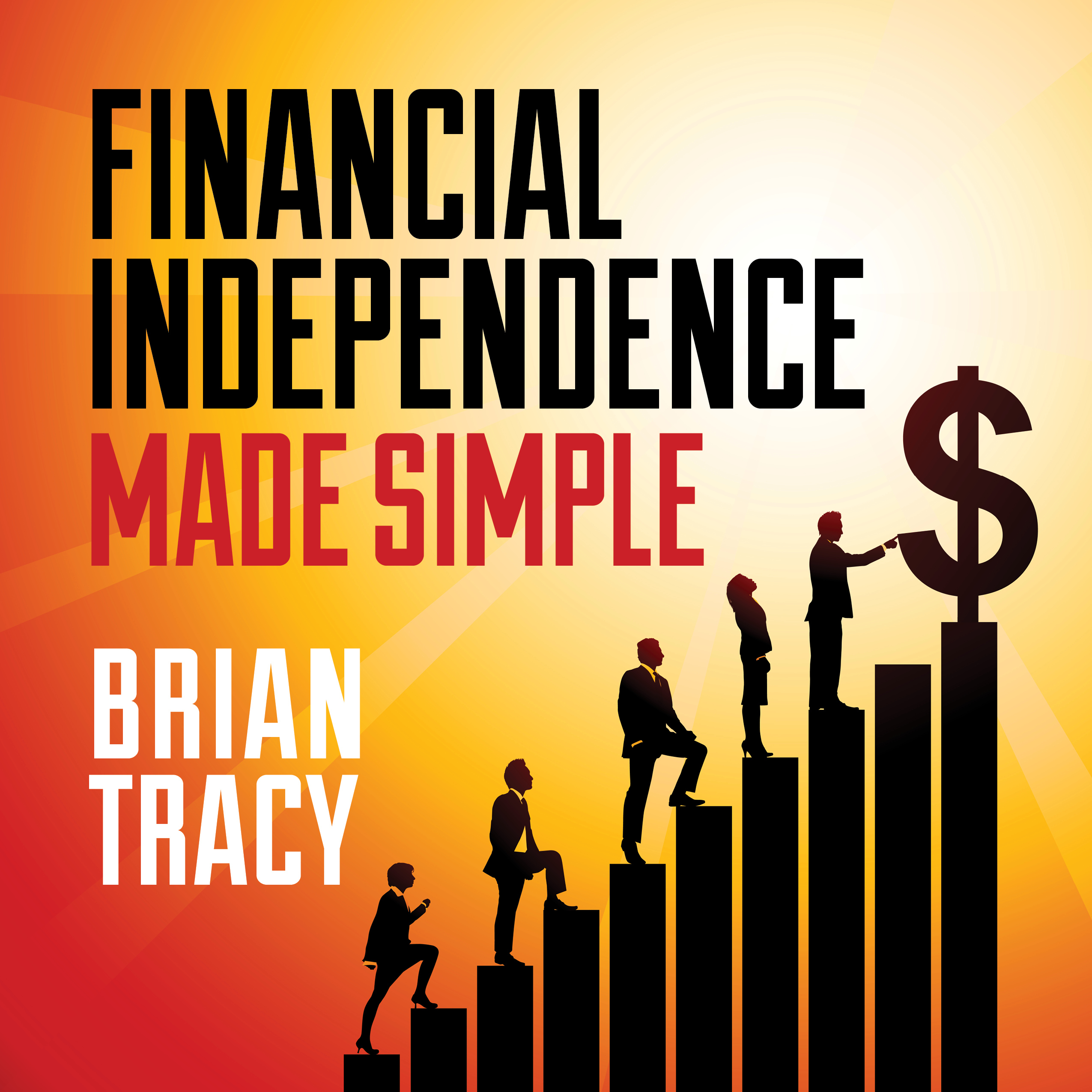 Printable Financial Independence Made Simple Audiobook Cover Art