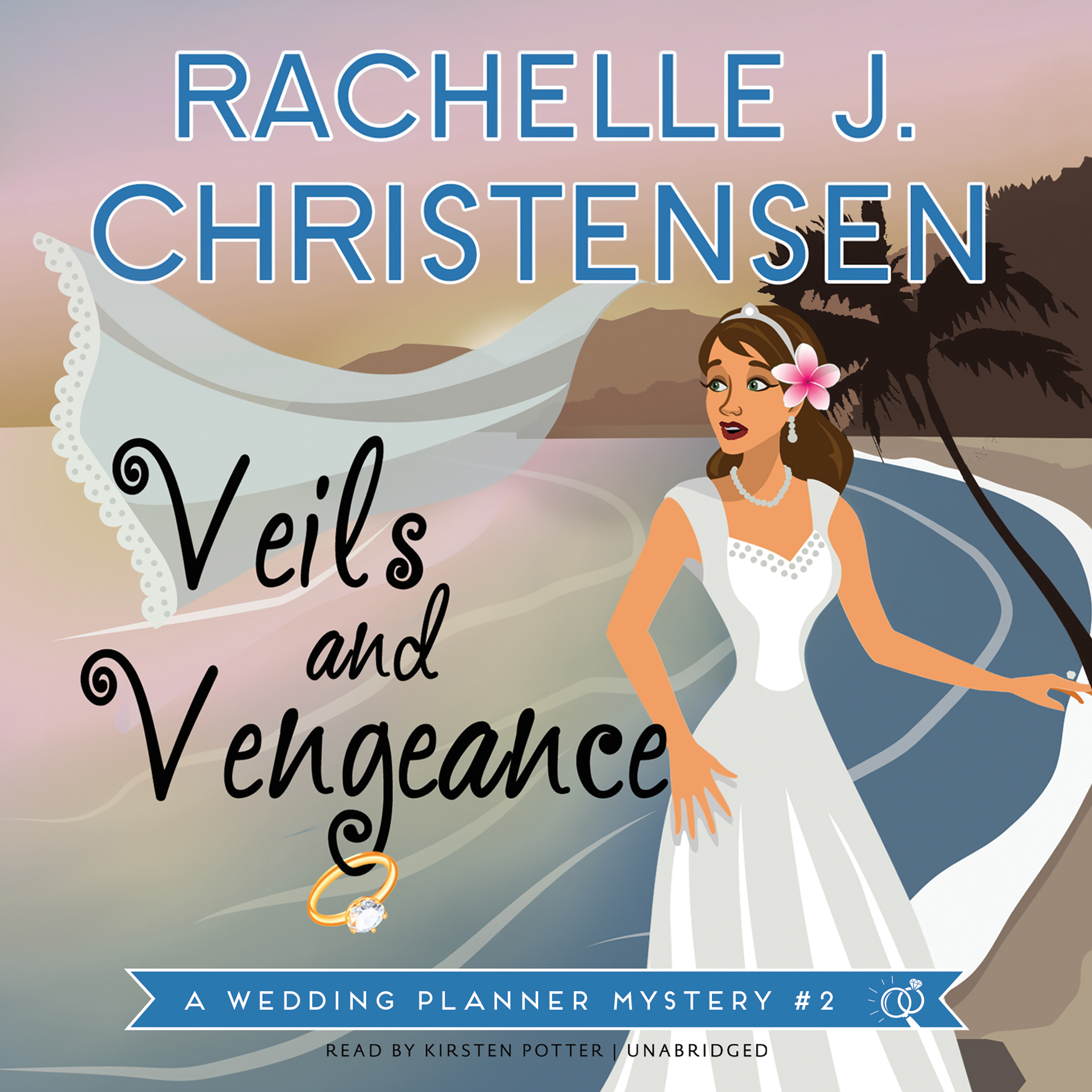 Printable Veils and Vengeance: A Wedding Planner Mystery #2 Audiobook Cover Art