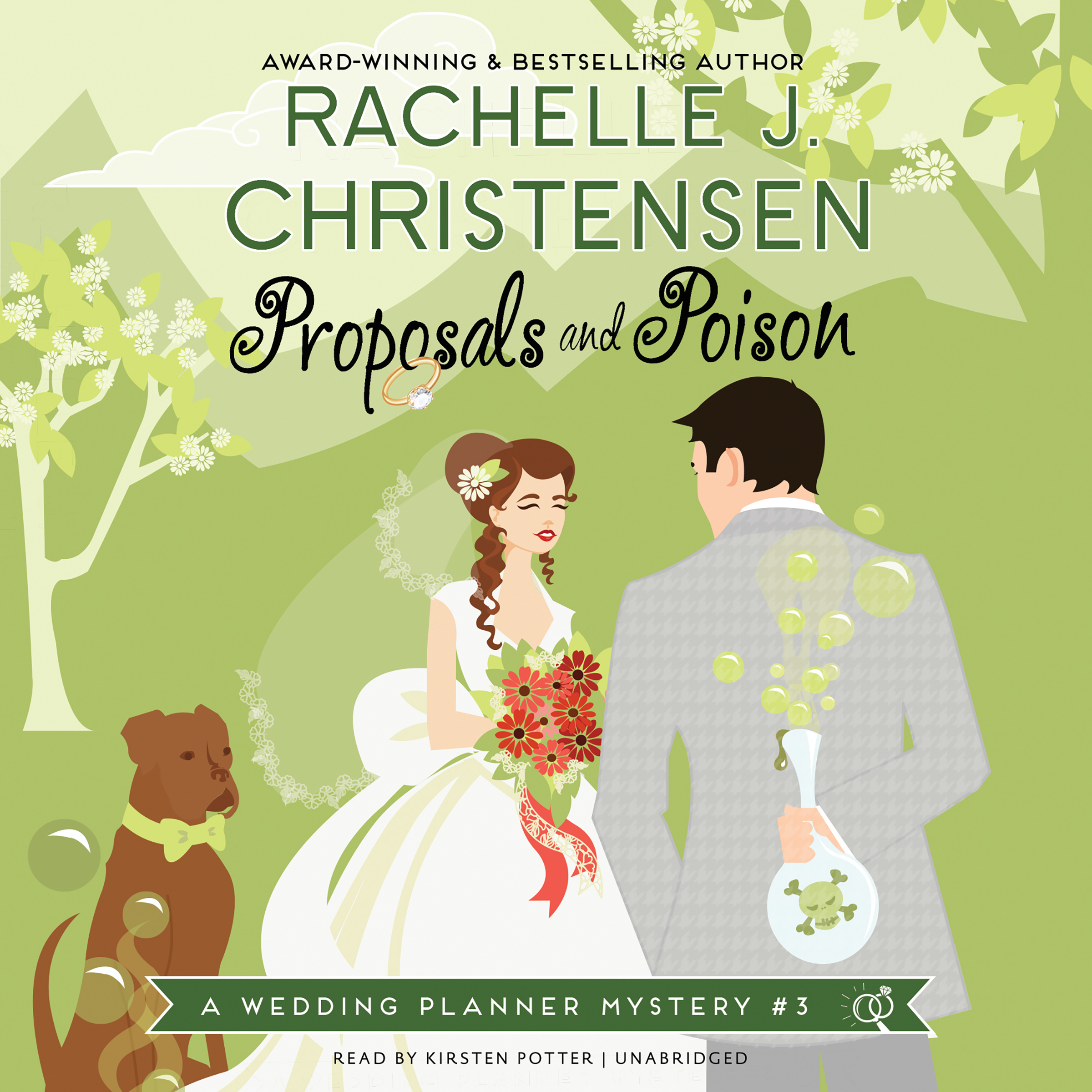 Printable Proposals and Poison: A Wedding Planner Mystery #3 Audiobook Cover Art