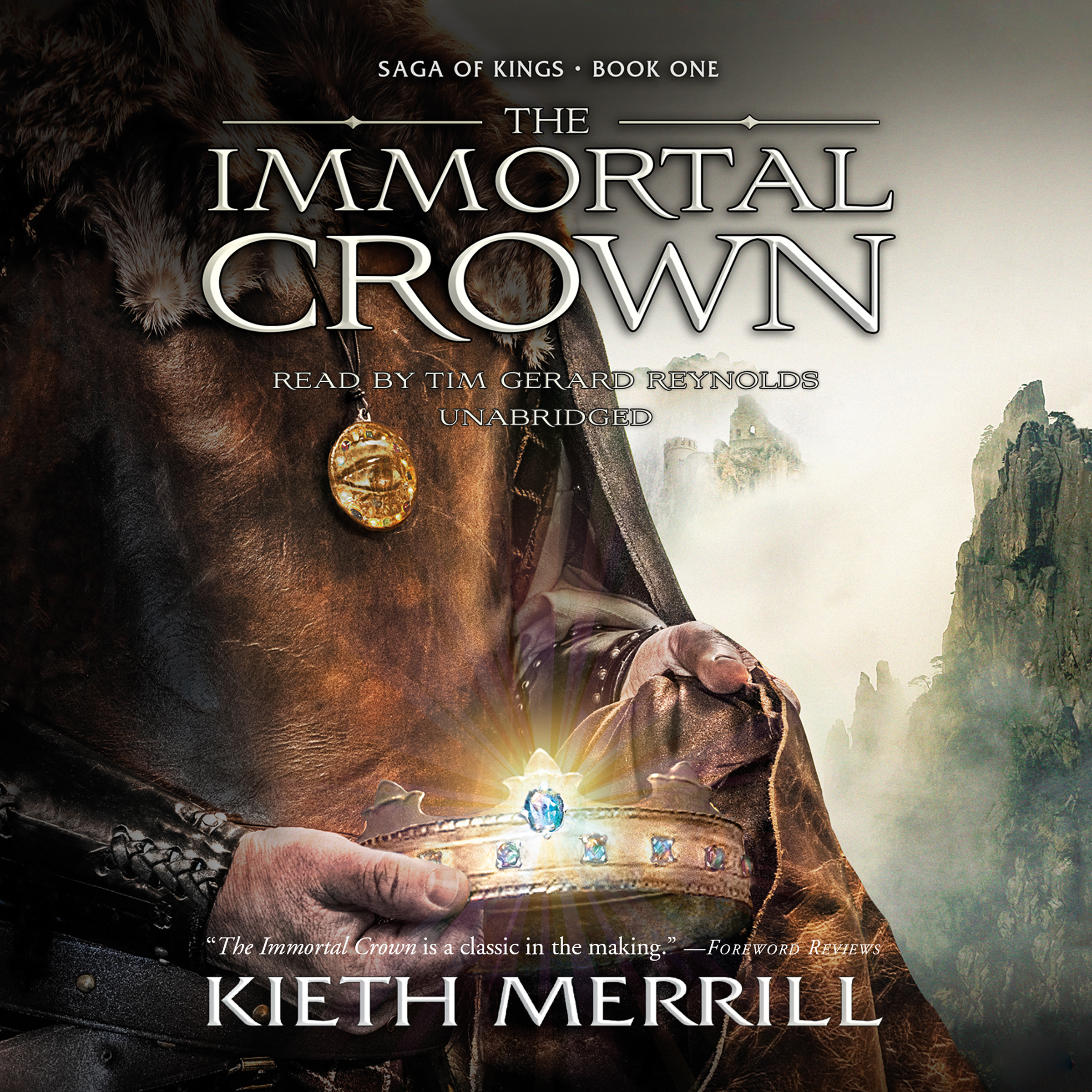 Printable The Immortal Crown: Saga of Kings, Book One Audiobook Cover Art