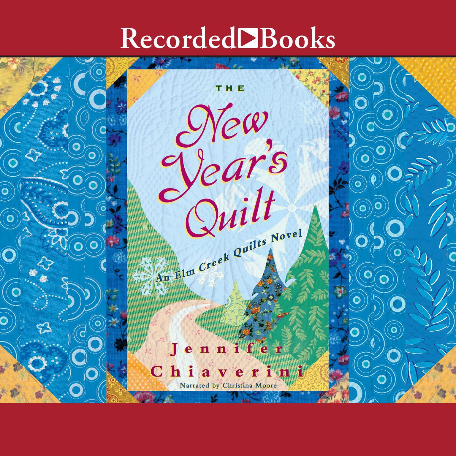 Printable The New Year's Quilt Audiobook Cover Art