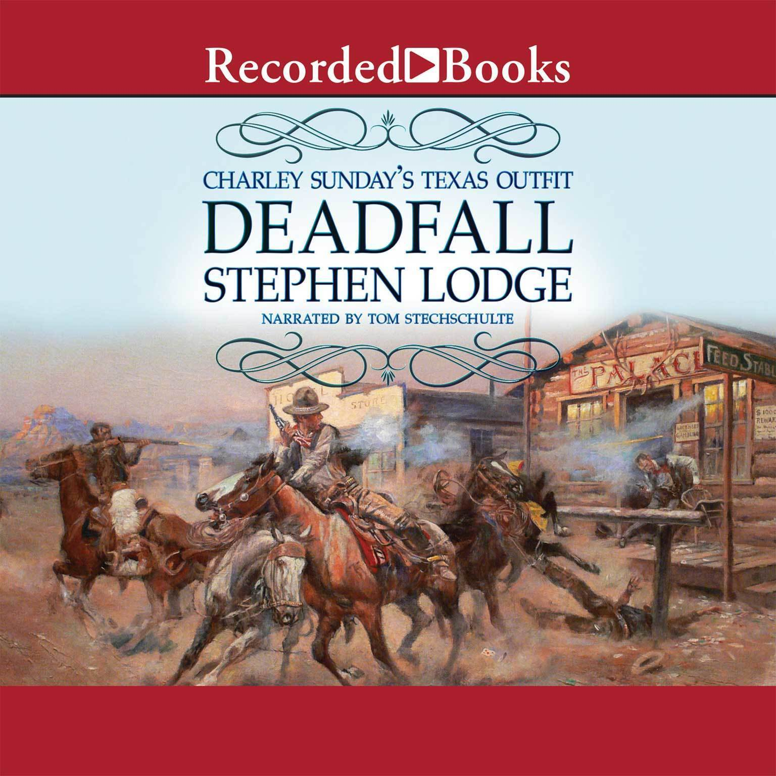 Printable Deadfall Audiobook Cover Art