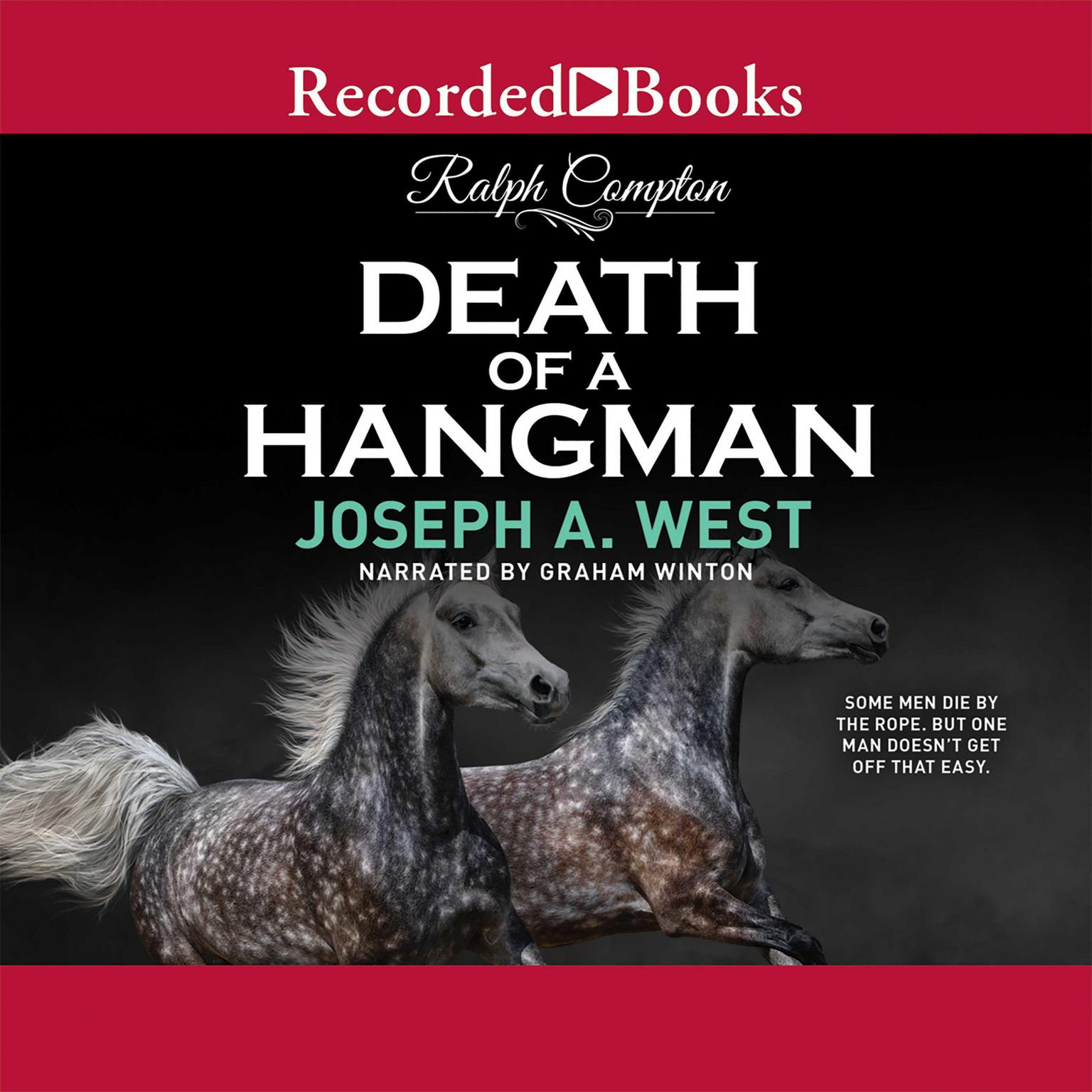 Printable Death of a Hangman Audiobook Cover Art