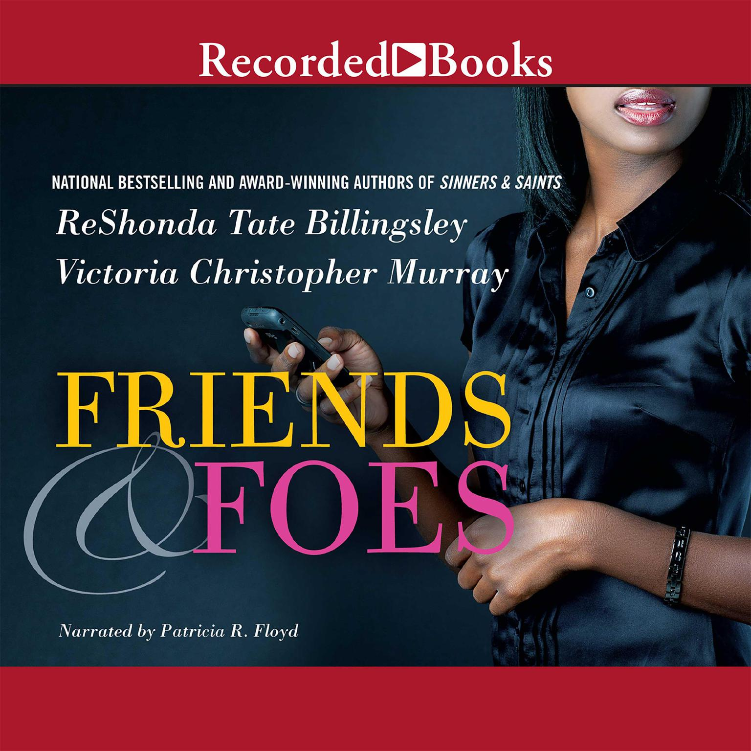 Printable Friends & Foes Audiobook Cover Art
