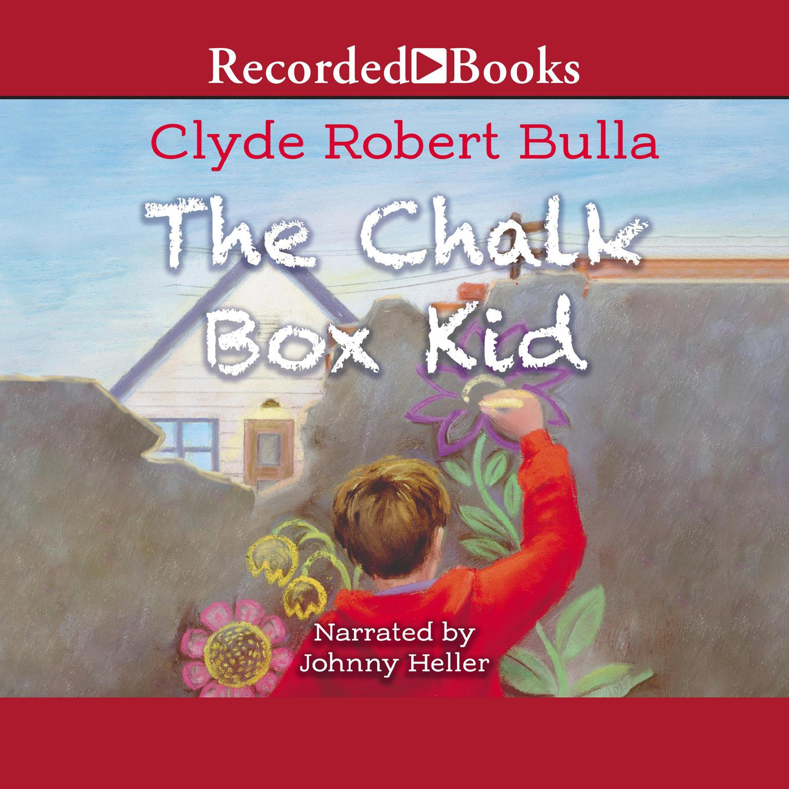 Printable The Chalk Box Kid Audiobook Cover Art