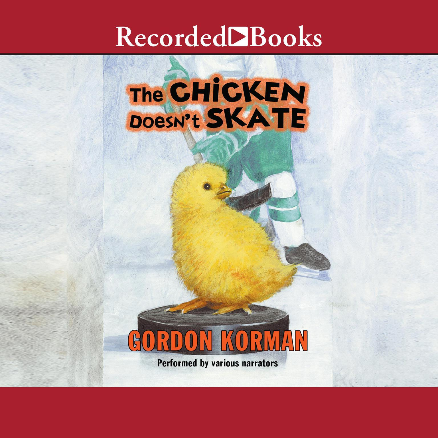 Printable The Chicken Doesn't Skate Audiobook Cover Art