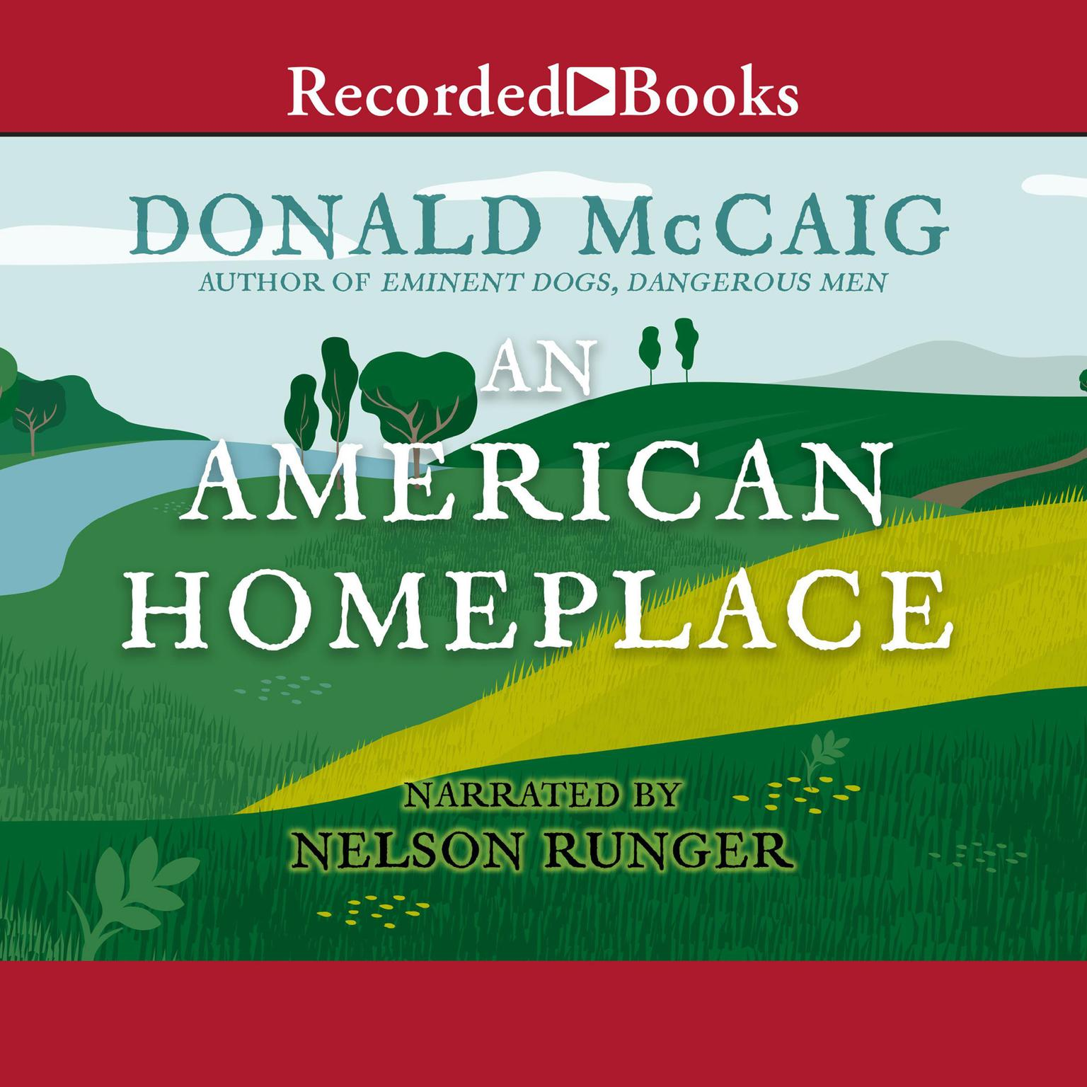 Printable An American Homeplace Audiobook Cover Art
