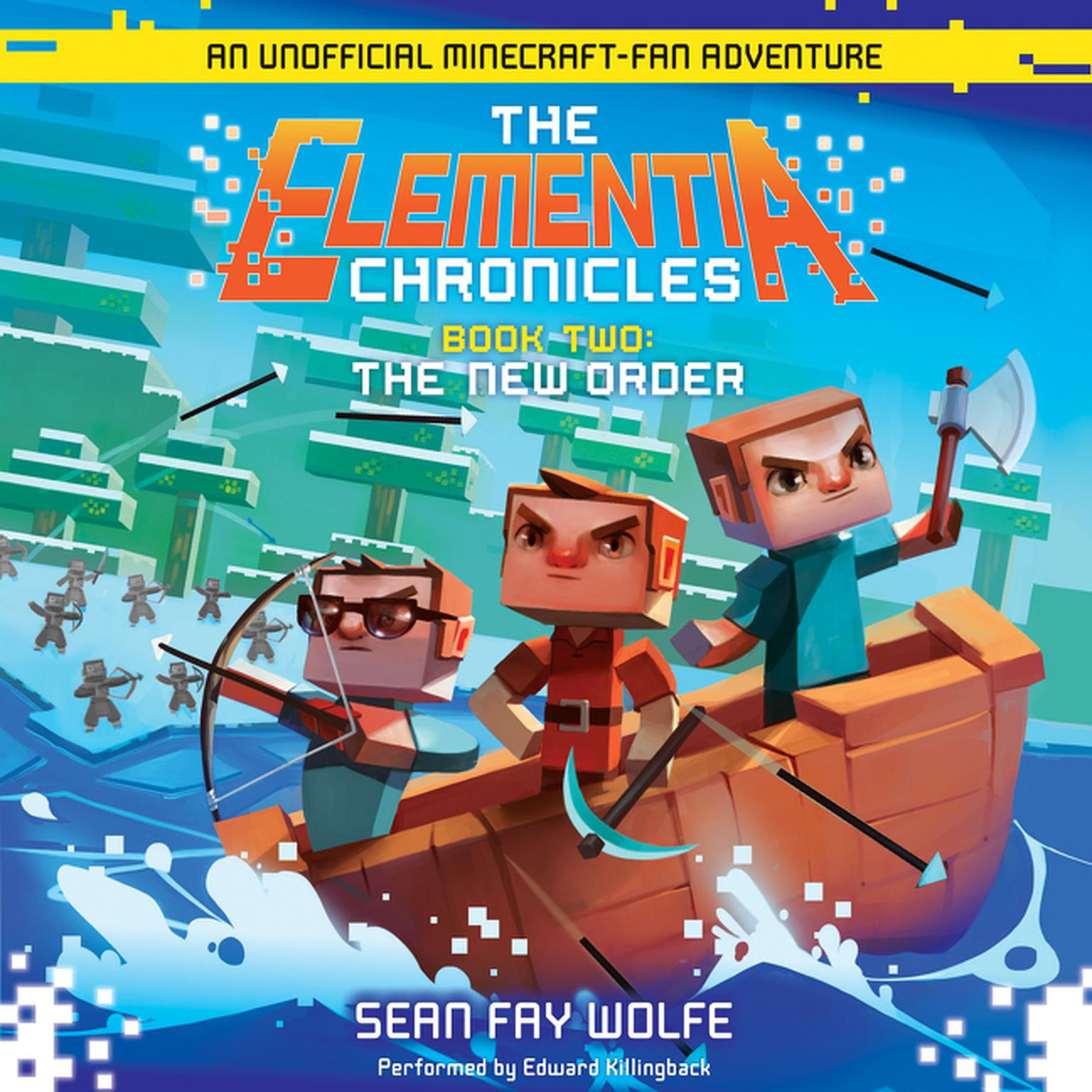 Printable The New Order: An Unofficial Minecraft-Fan Adventure Audiobook Cover Art