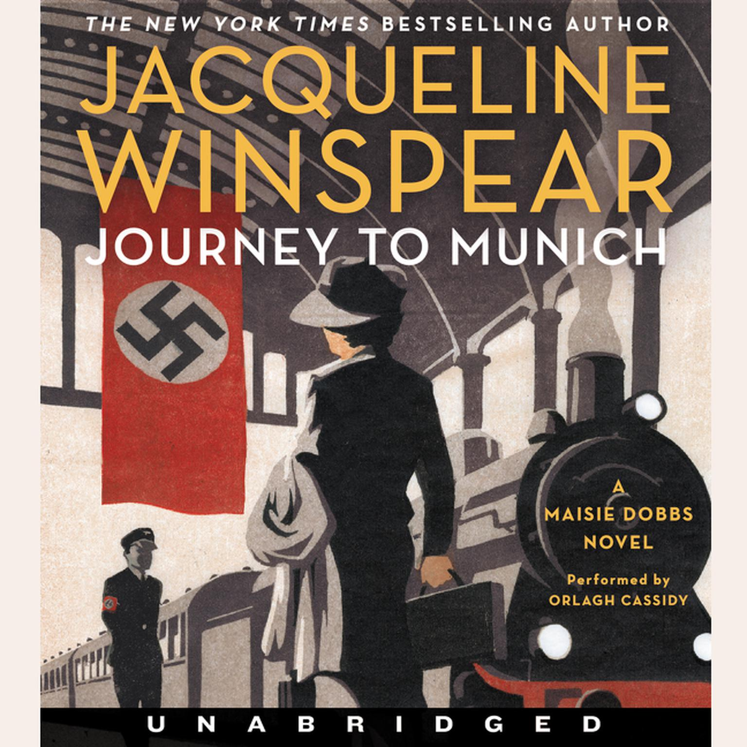 Printable Journey to Munich: A Maisie Dobbs Novel Audiobook Cover Art