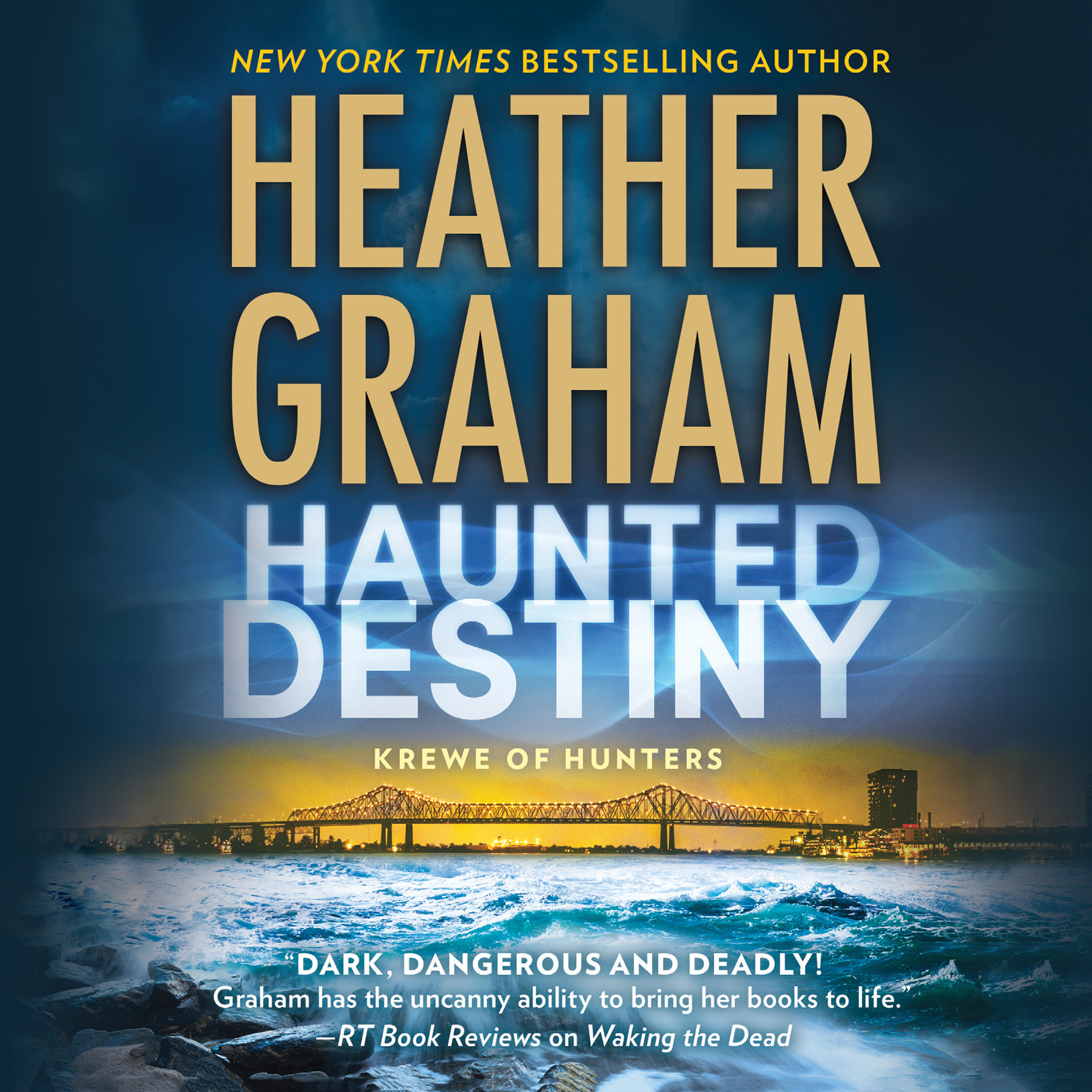 Printable Haunted Destiny Audiobook Cover Art