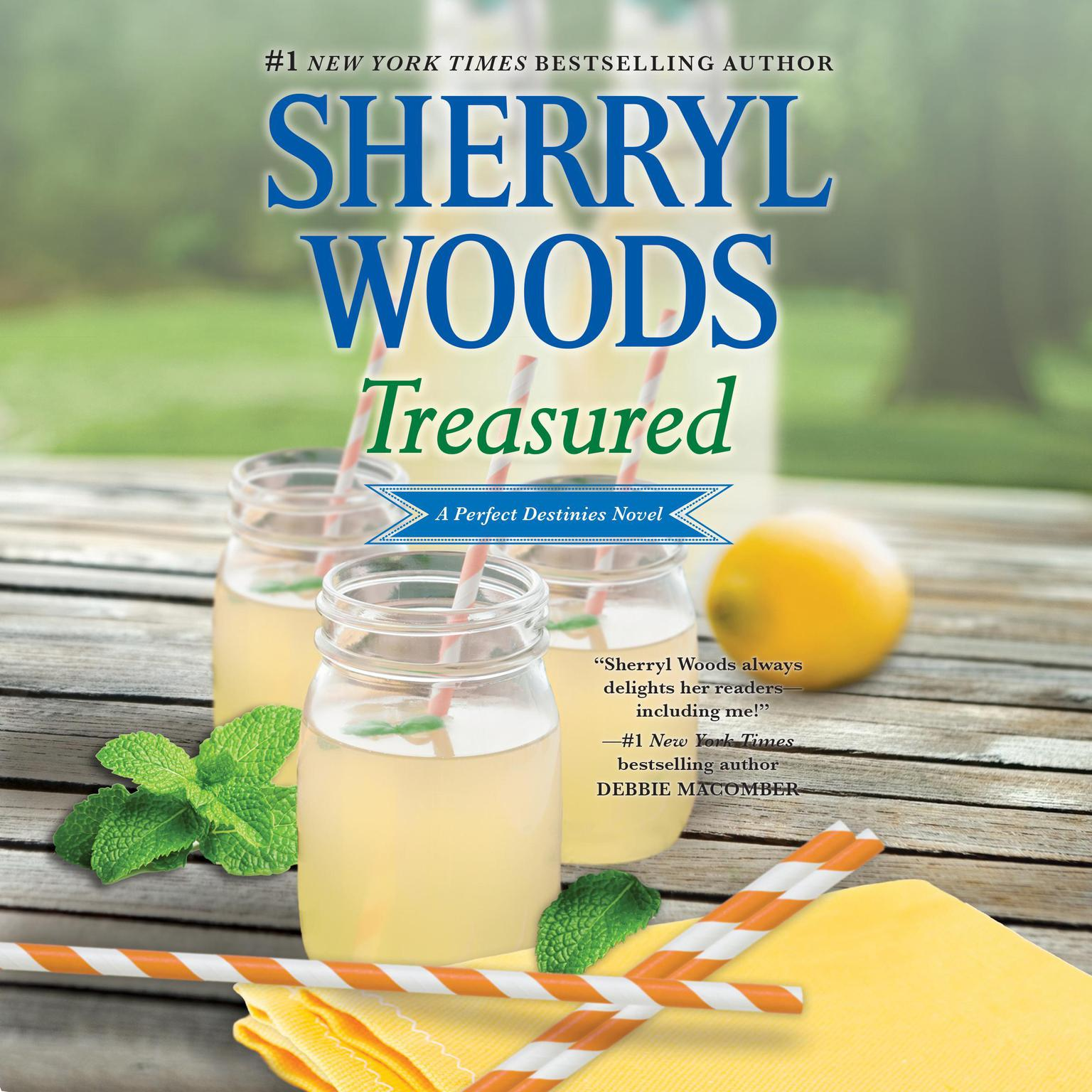 Printable Treasured Audiobook Cover Art