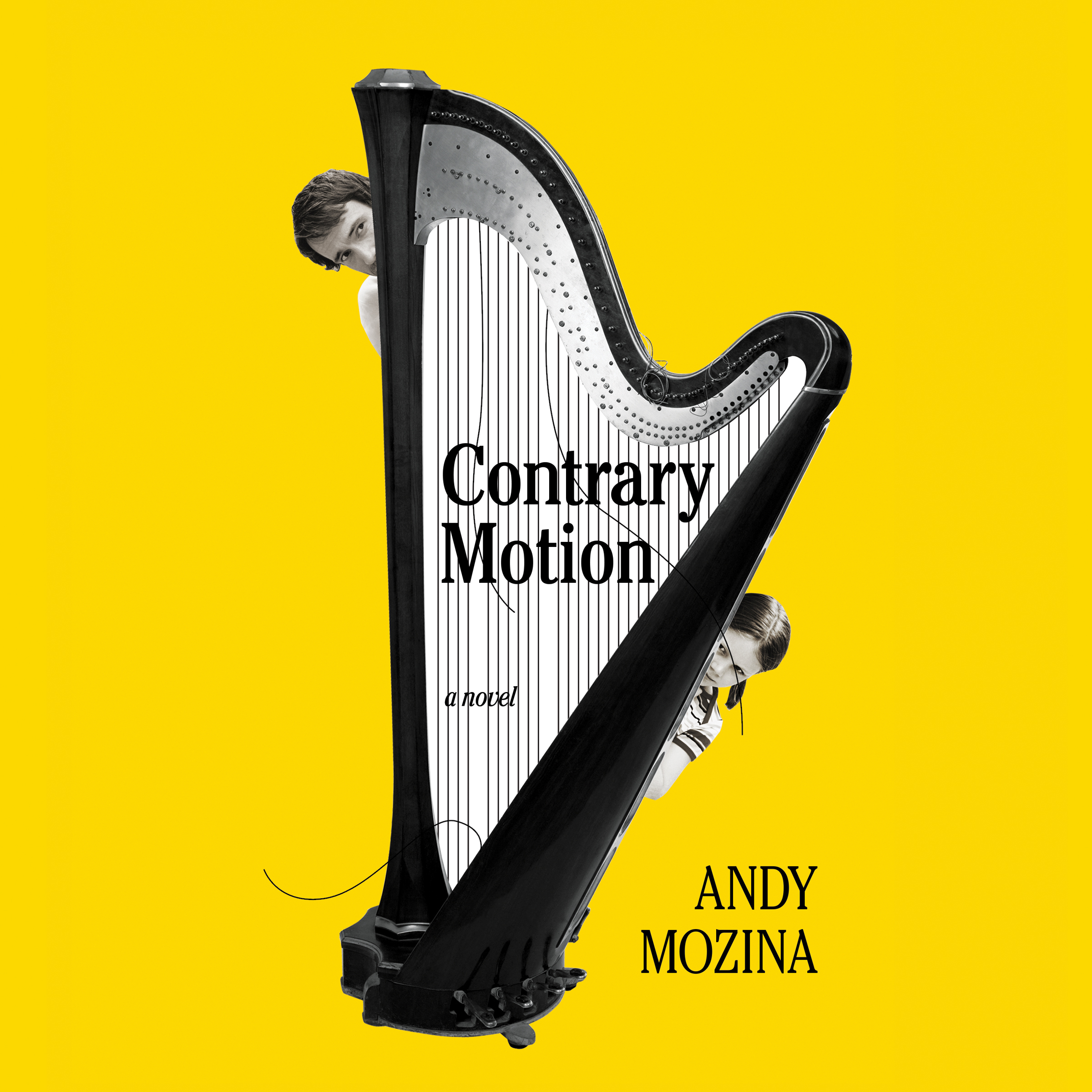 Printable Contrary Motion: A Novel Audiobook Cover Art