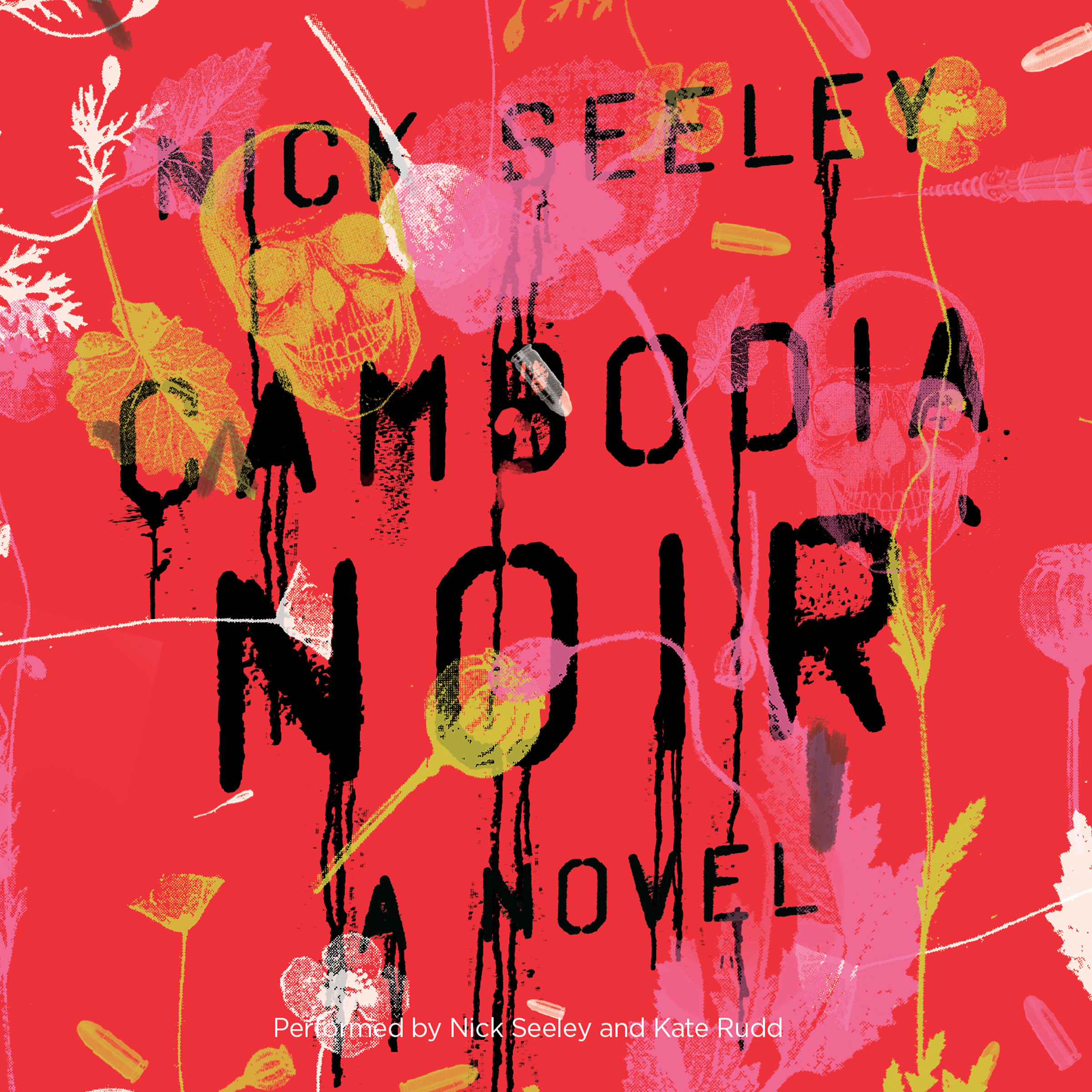 Printable Cambodia Noir Audiobook Cover Art