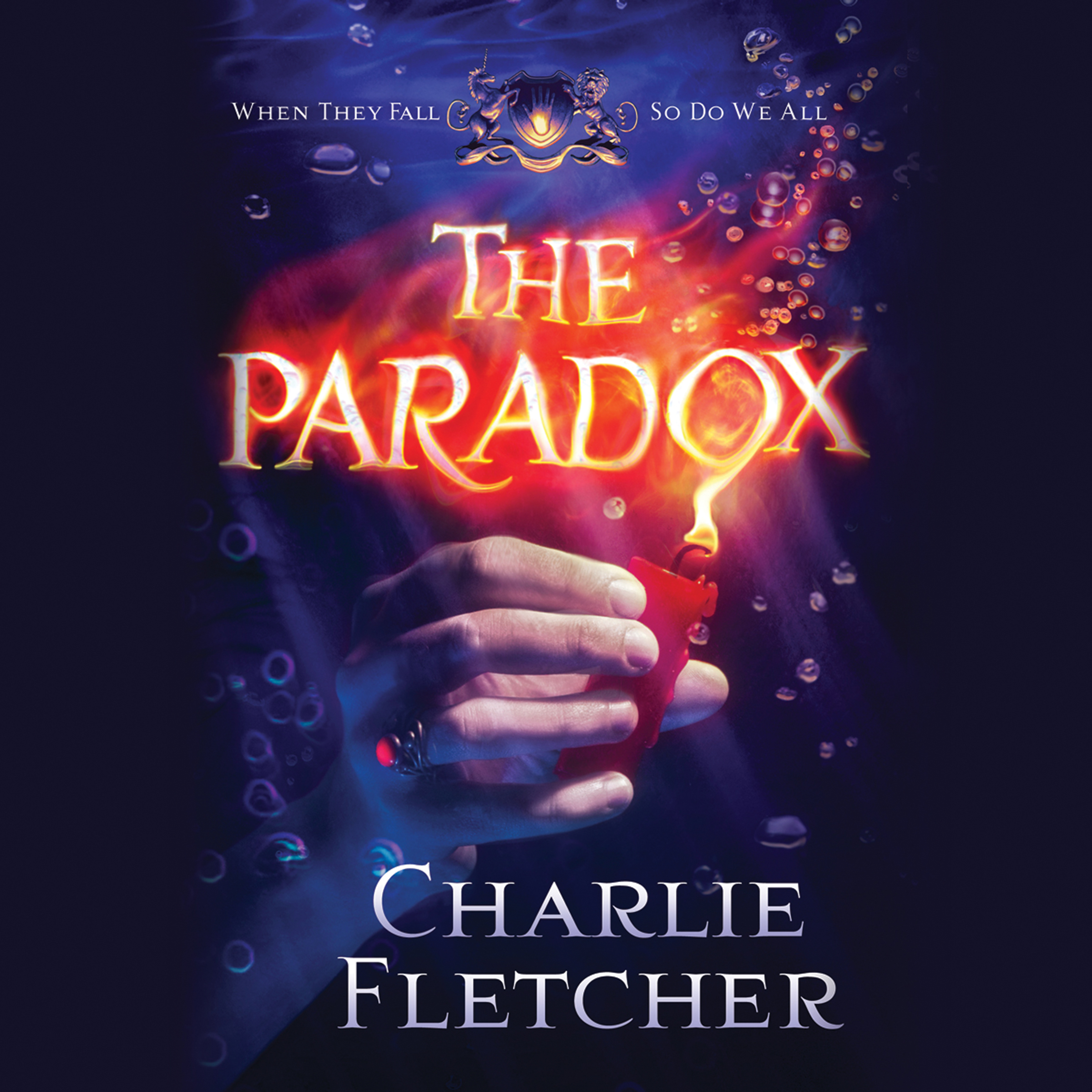 Printable The Paradox Audiobook Cover Art