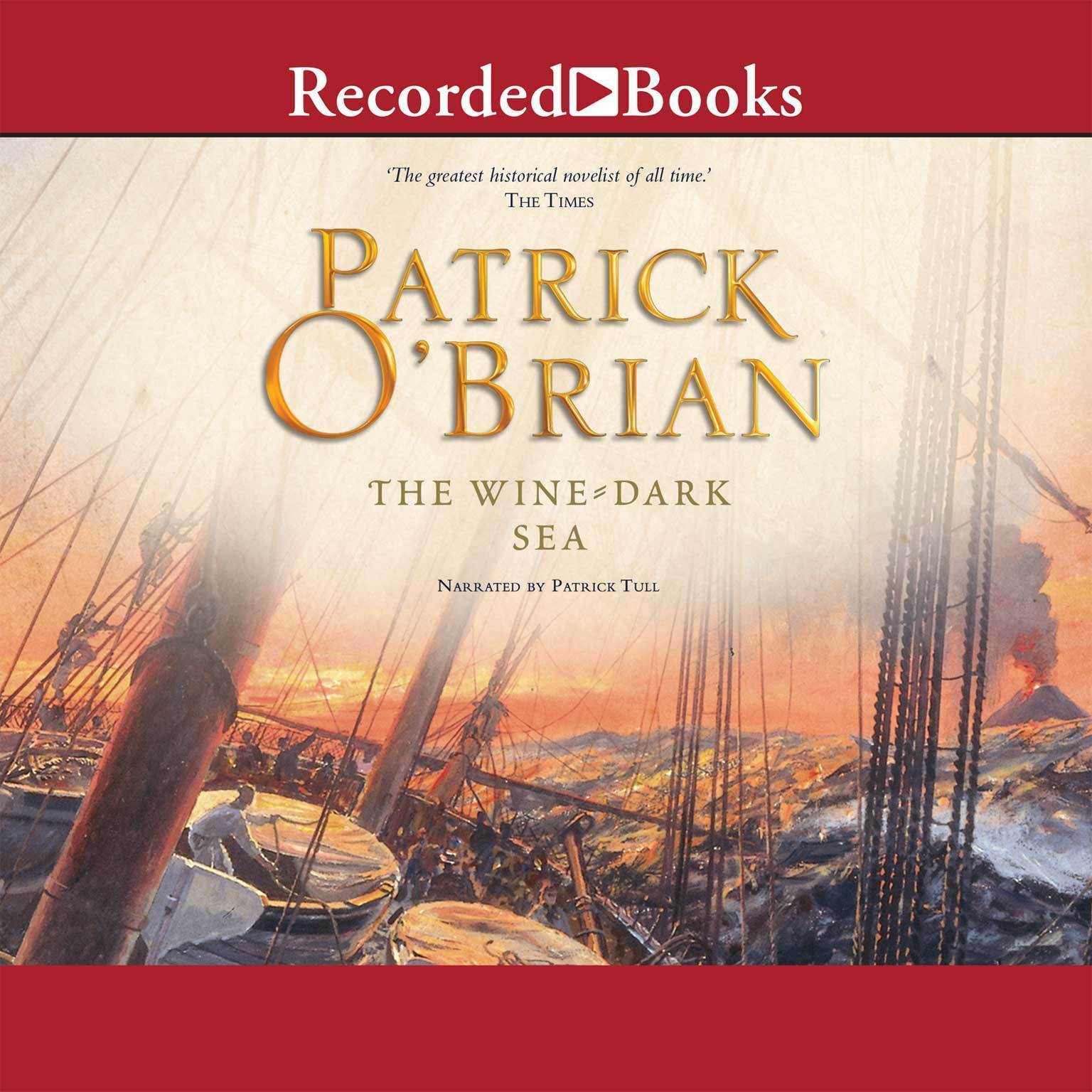 Printable The Wine-Dark Sea Audiobook Cover Art