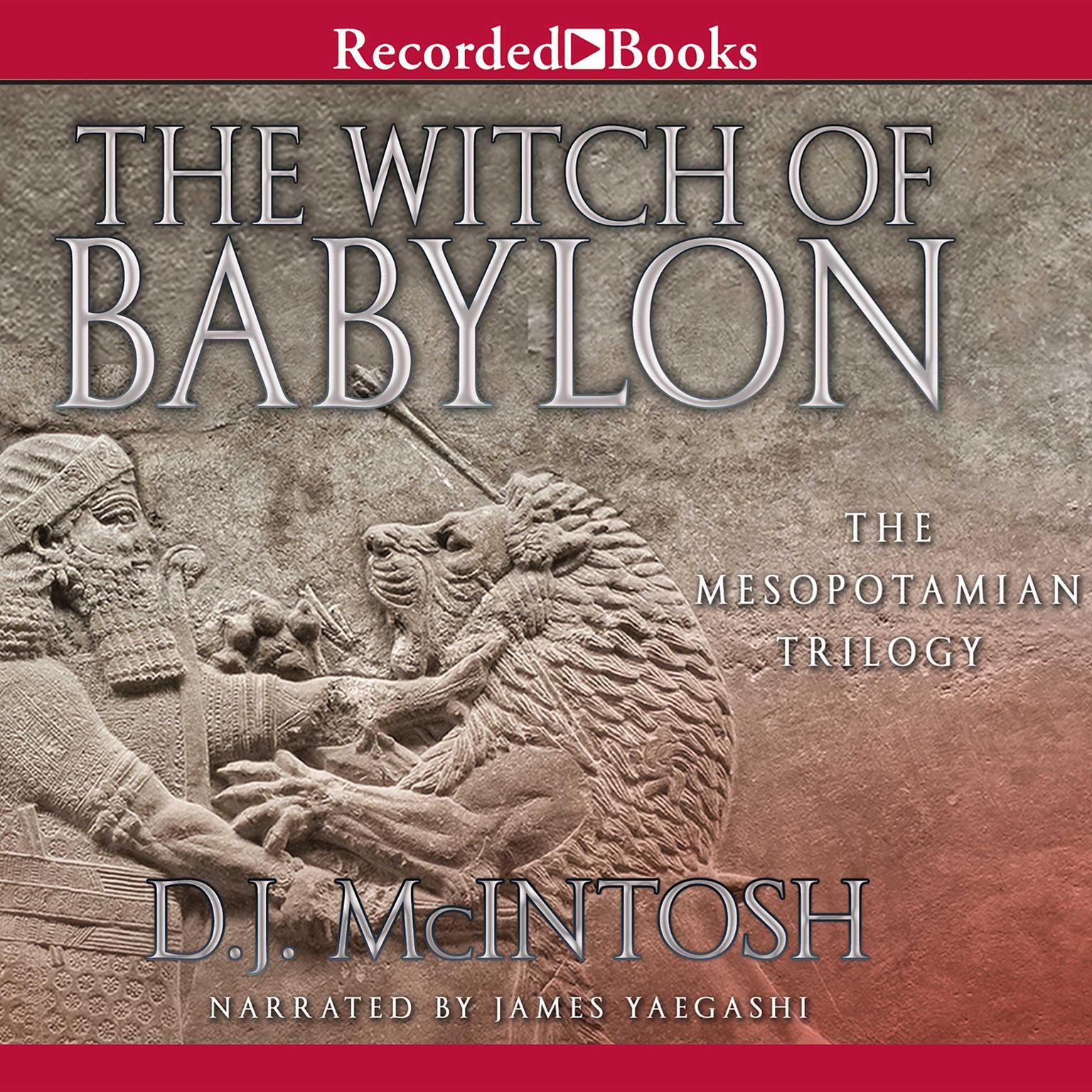 Printable The Witch of Babylon Audiobook Cover Art