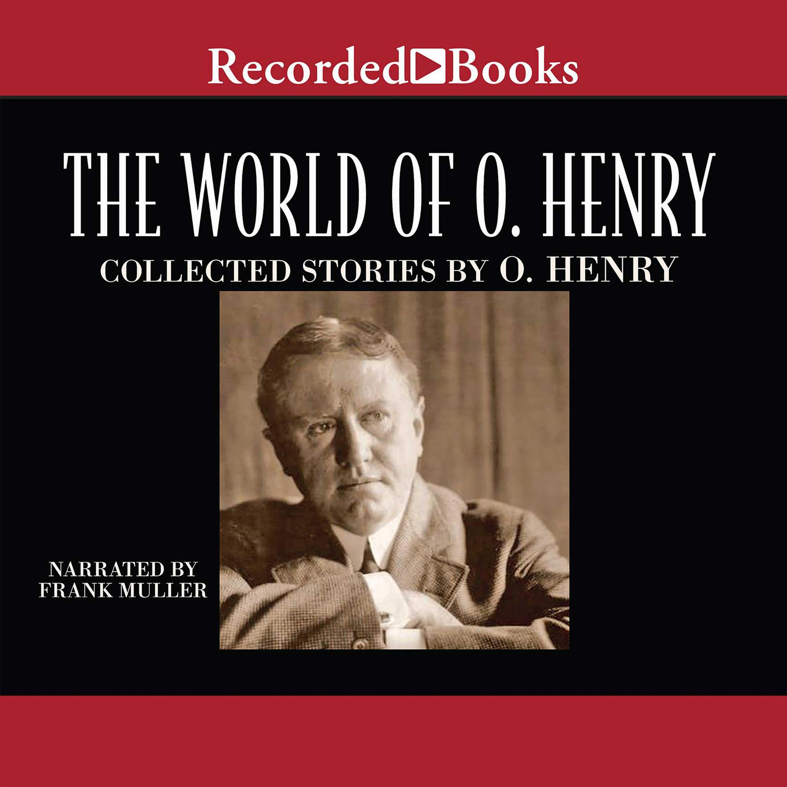 Printable The World of O. Henry Audiobook Cover Art