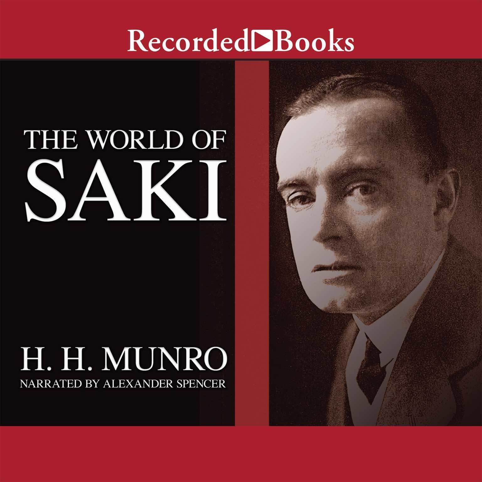 Printable The World of Saki Audiobook Cover Art