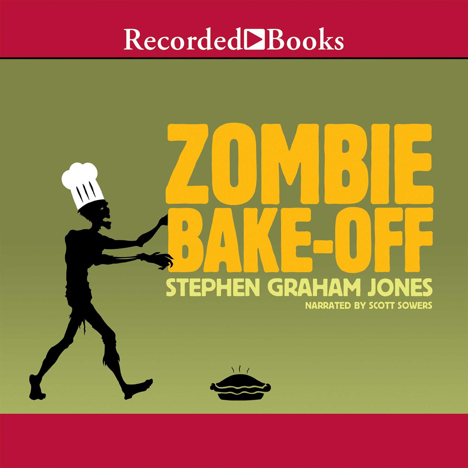 Printable Zombie Bake-Off Audiobook Cover Art