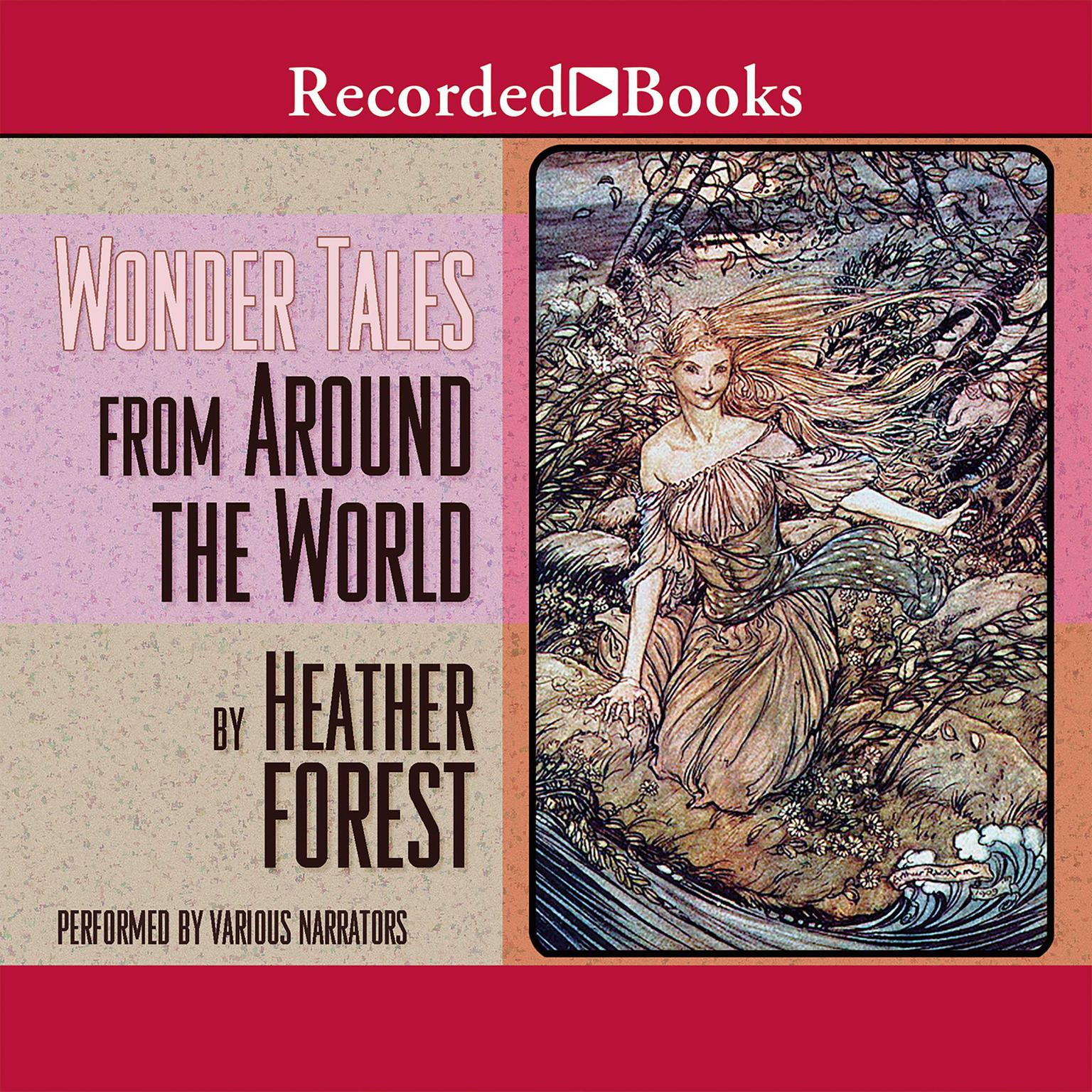 Printable Wonder Tales from Around the World Audiobook Cover Art