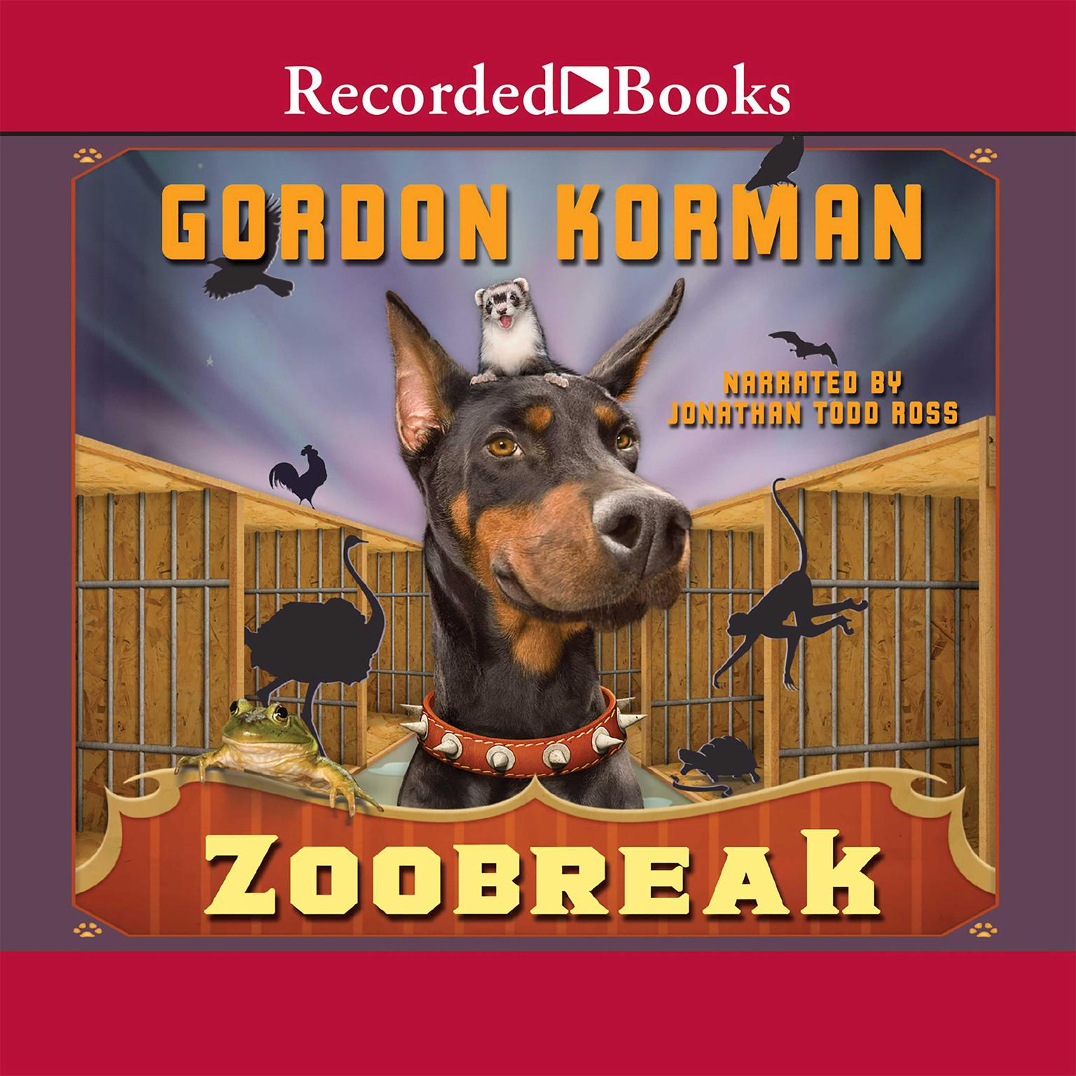 Printable Zoobreak Audiobook Cover Art