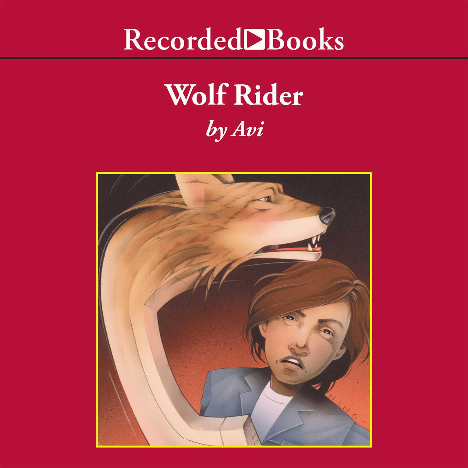 Printable Wolf Rider Audiobook Cover Art