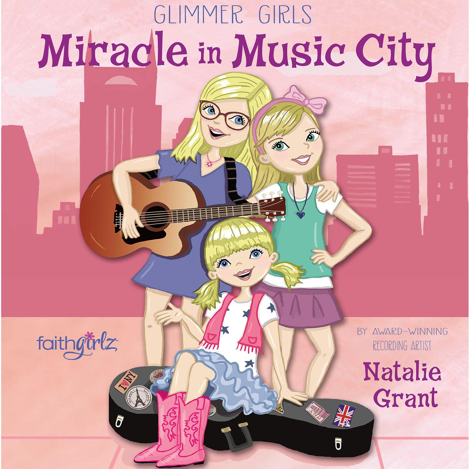 Printable Miracle in Music City Audiobook Cover Art