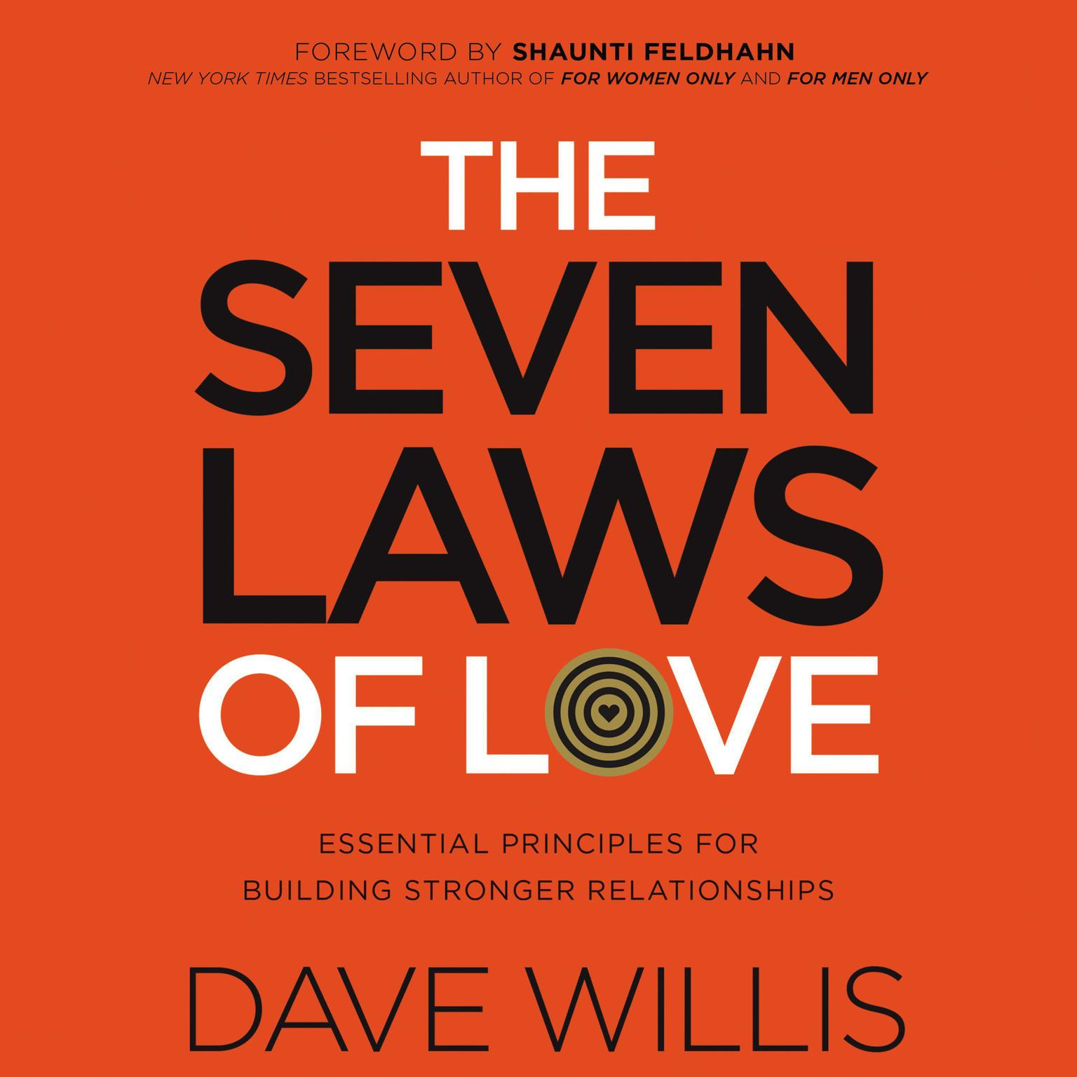 Printable The Seven Laws of Love: Essential Principles for Building Stronger Relationships Audiobook Cover Art