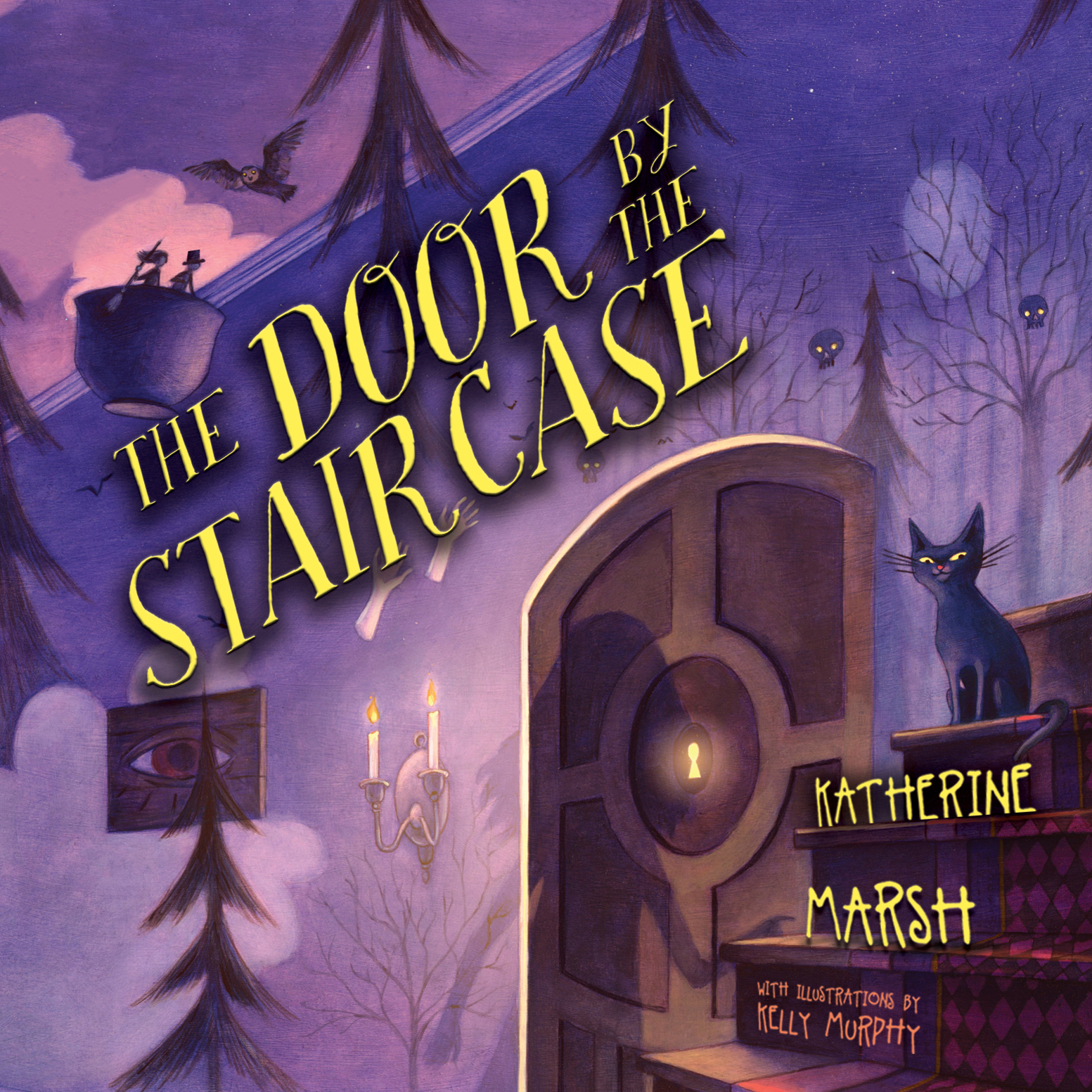 Printable The Door by the Staircase Audiobook Cover Art
