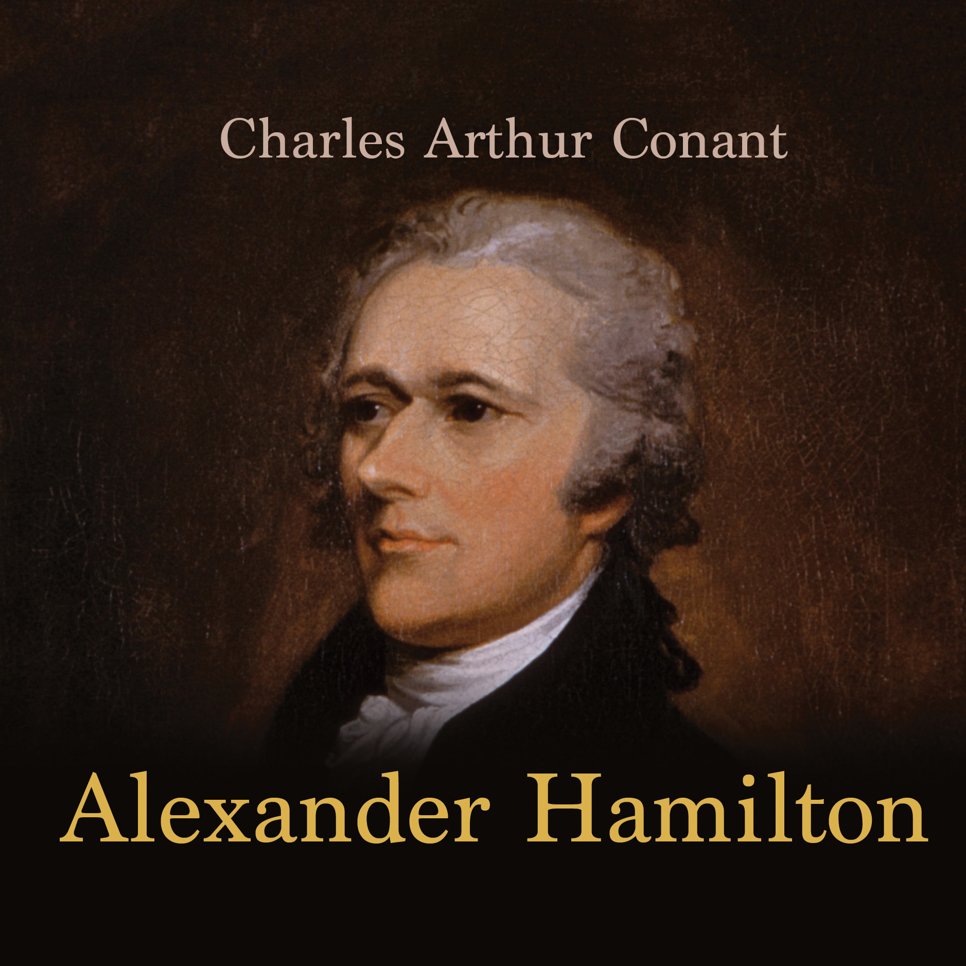 Printable Alexander Hamilton Audiobook Cover Art
