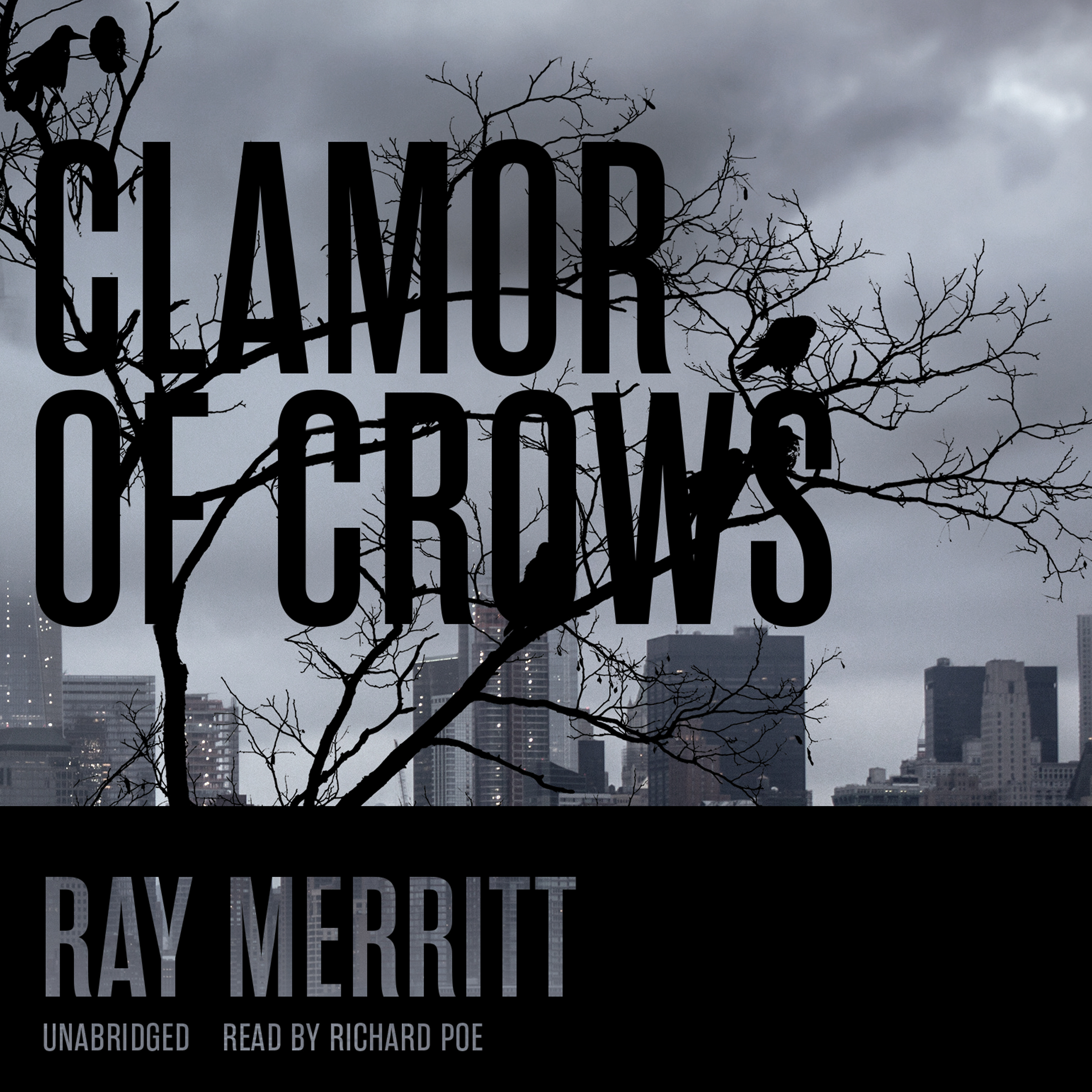 Printable Clamour of Crows Audiobook Cover Art