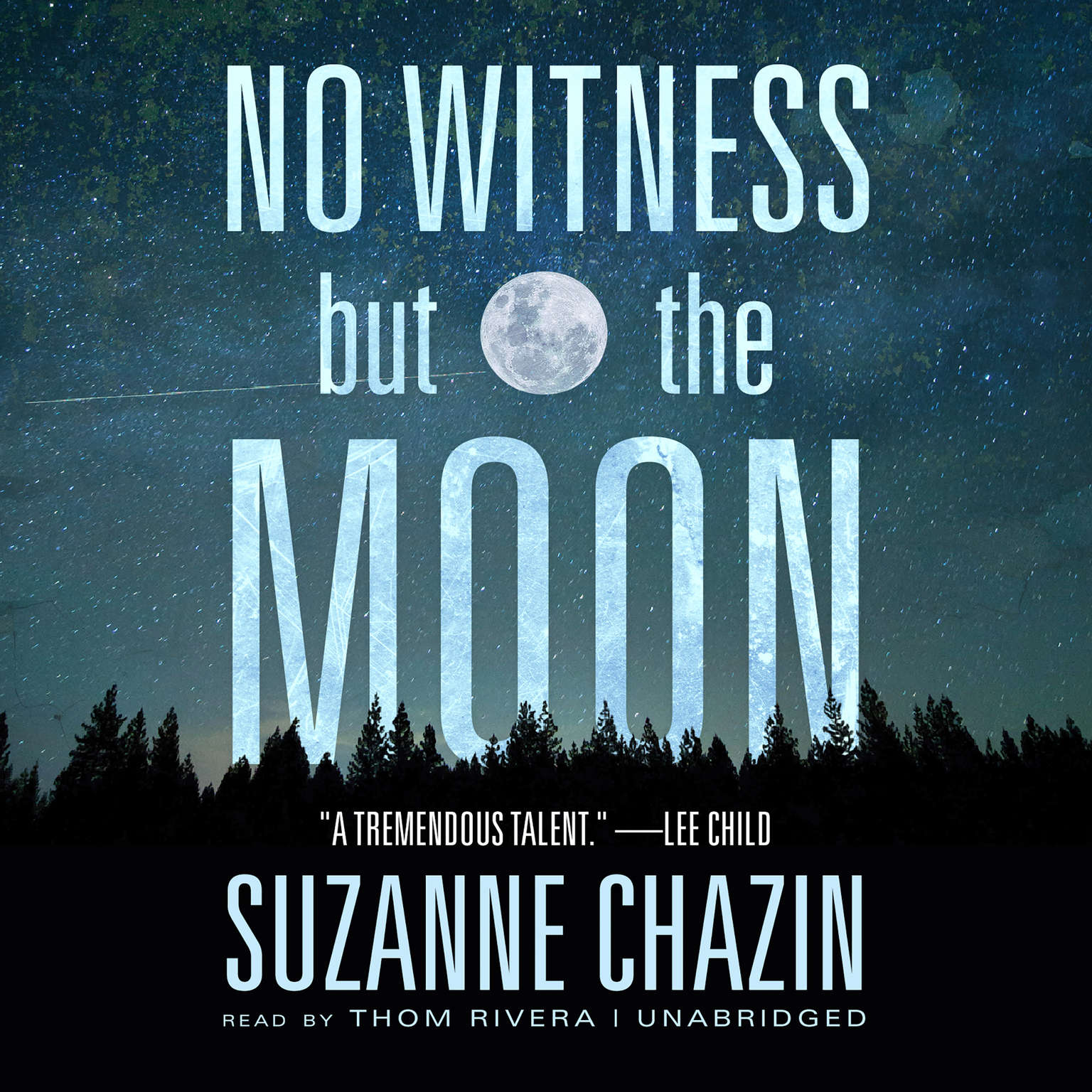 Printable No Witness but the Moon Audiobook Cover Art
