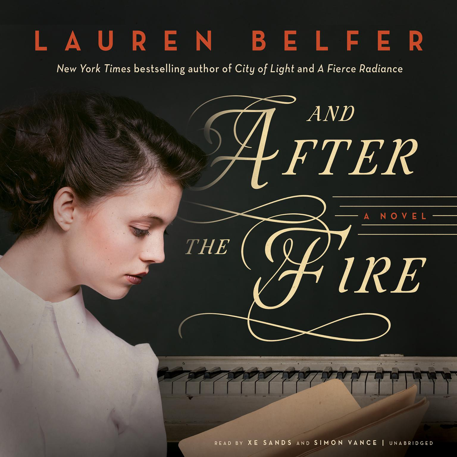 Printable And After the Fire: A Novel Audiobook Cover Art