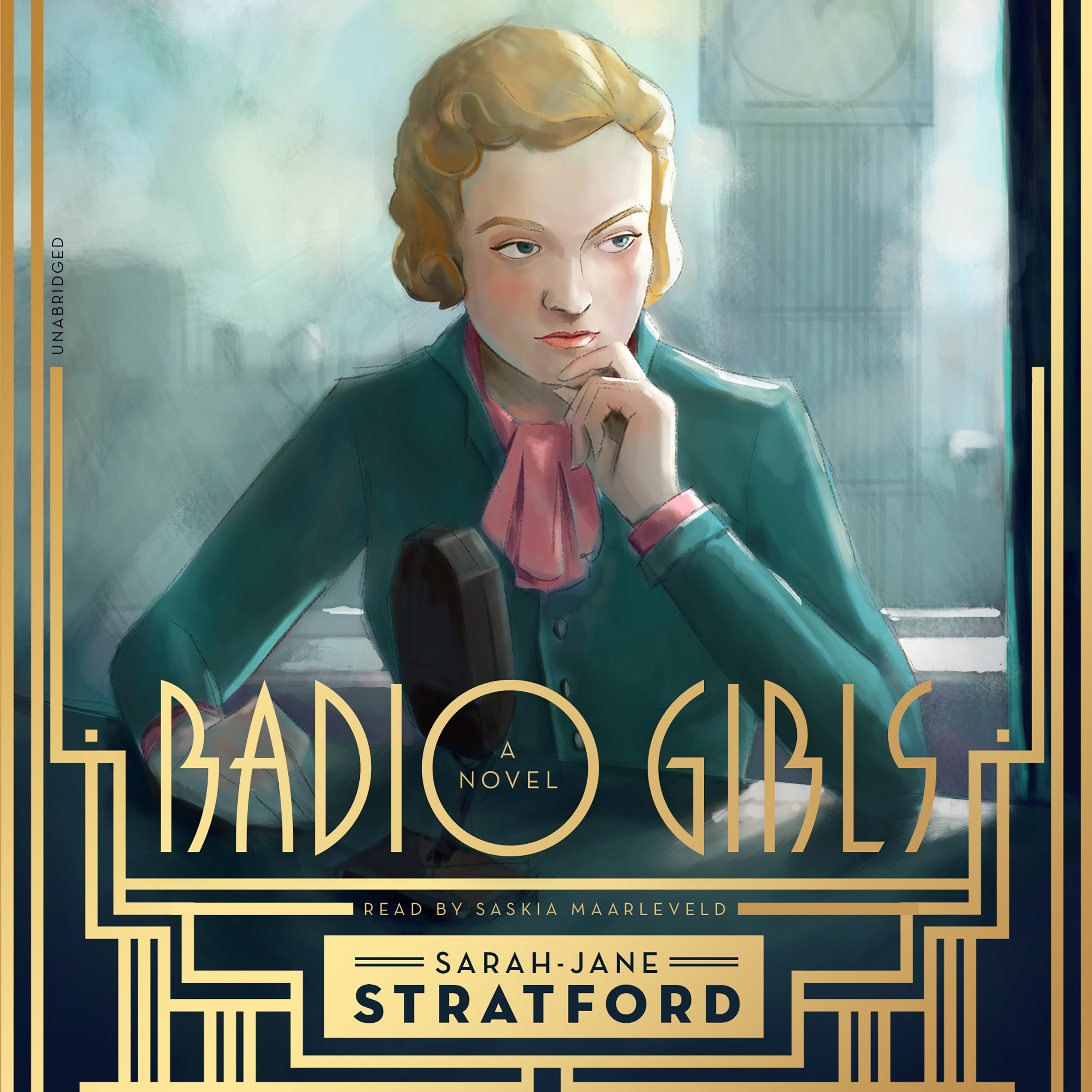 Printable Radio Girls Audiobook Cover Art