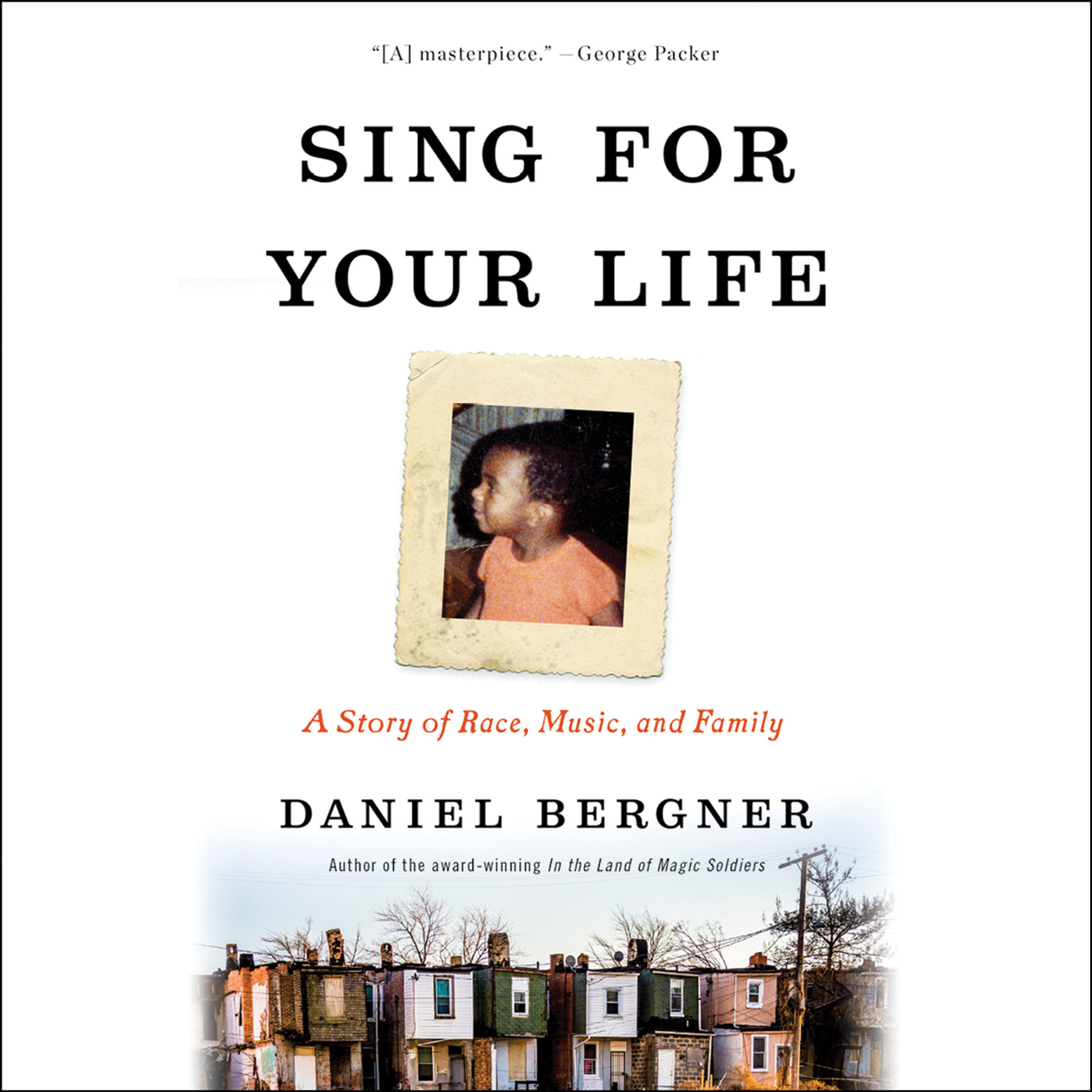 Printable Sing for Your Life: A Story of Race, Music, and Family Audiobook Cover Art