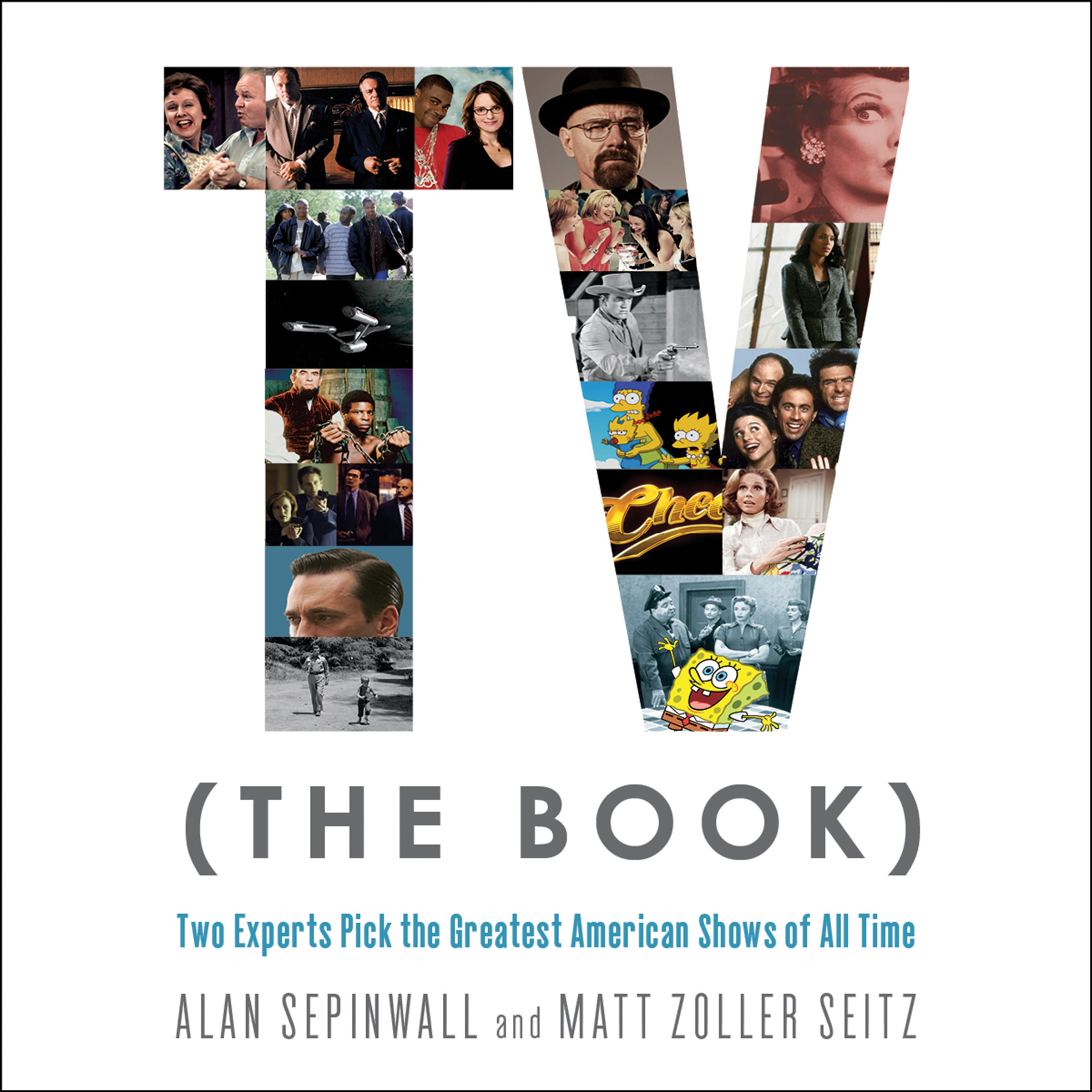 Printable TV (The Book): Two Experts Pick the Greatest American Shows of All Time Audiobook Cover Art