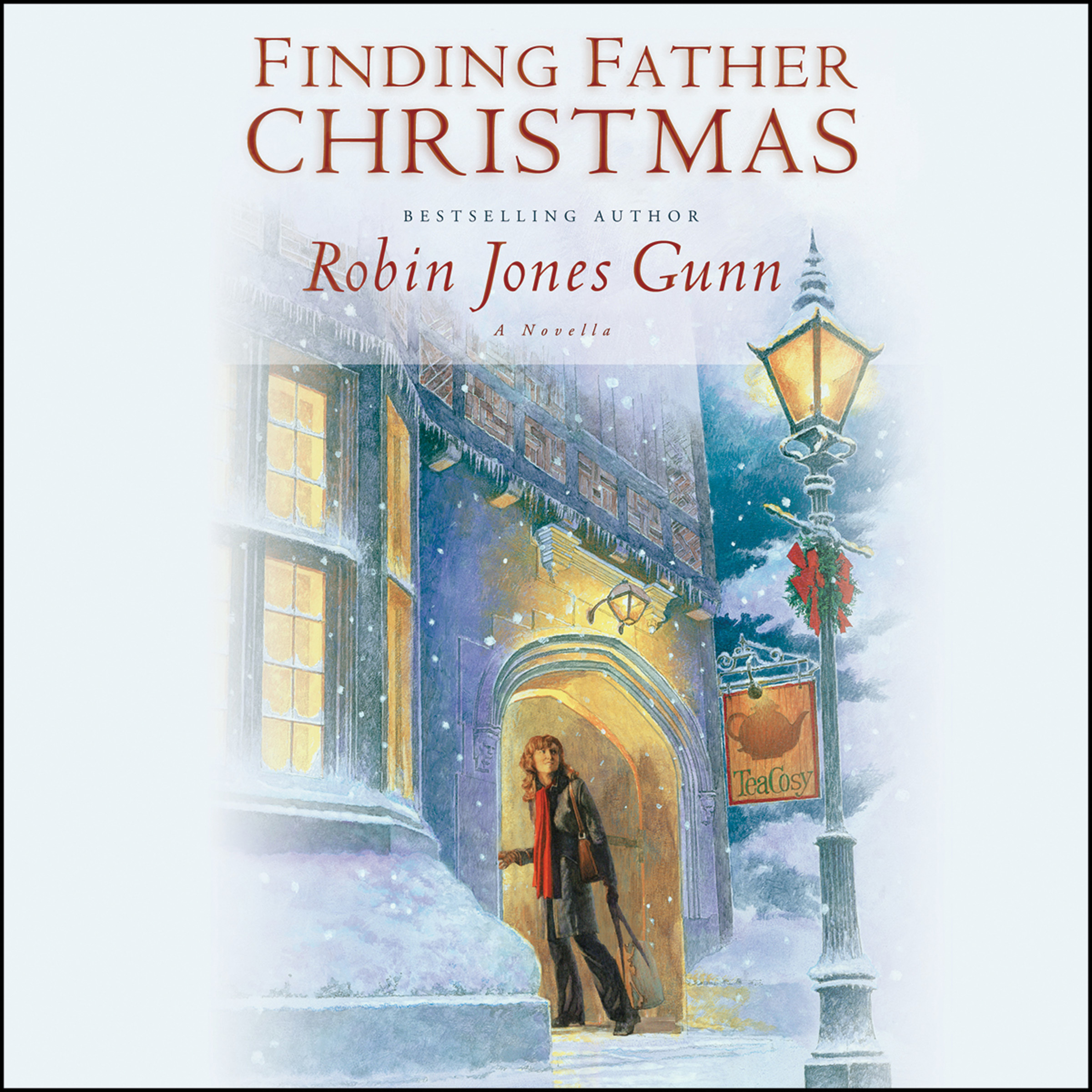 Printable Finding Father Christmas: A Novella Audiobook Cover Art