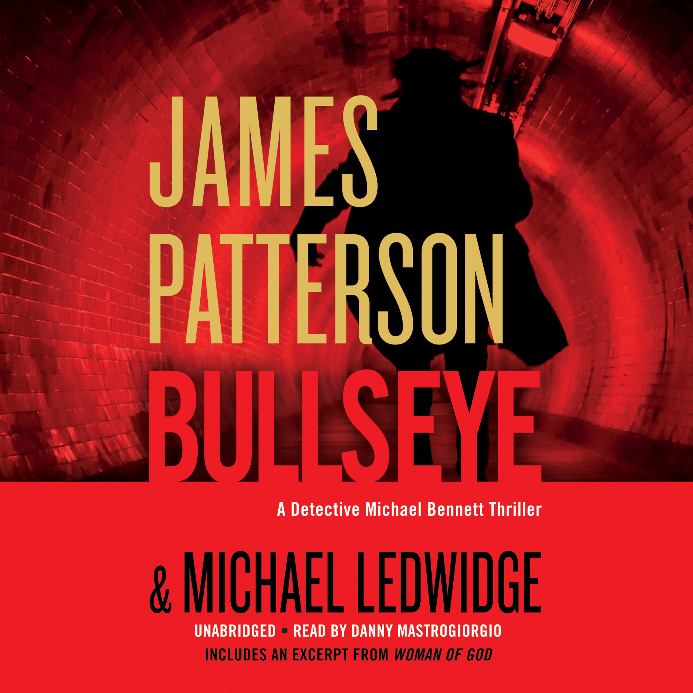 Printable Bullseye Audiobook Cover Art